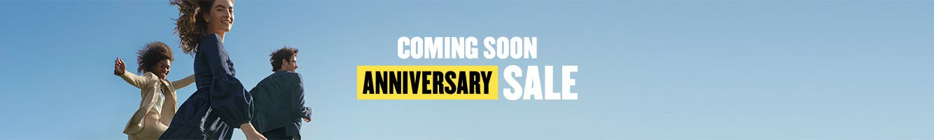 Anniversary Sale starts July 28. Preview the sale now.
