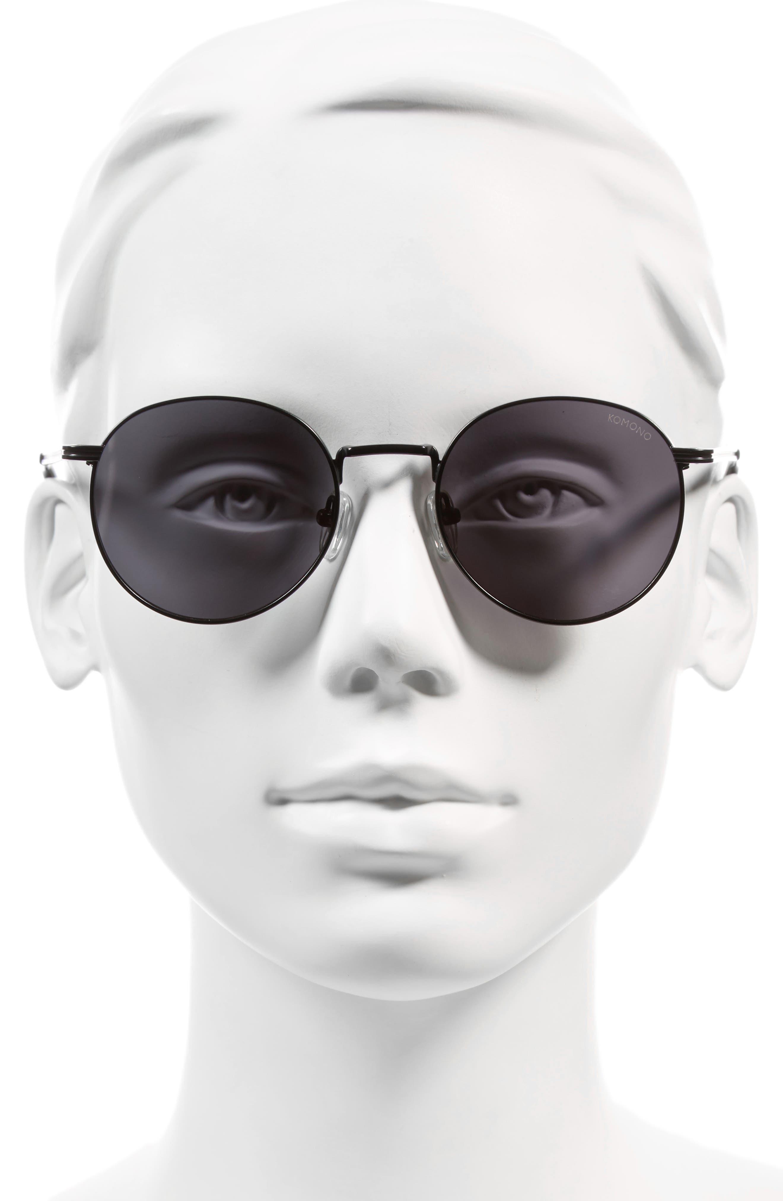 Taylor 50mm Sunglasses,                             Alternate thumbnail 3, color,                             001