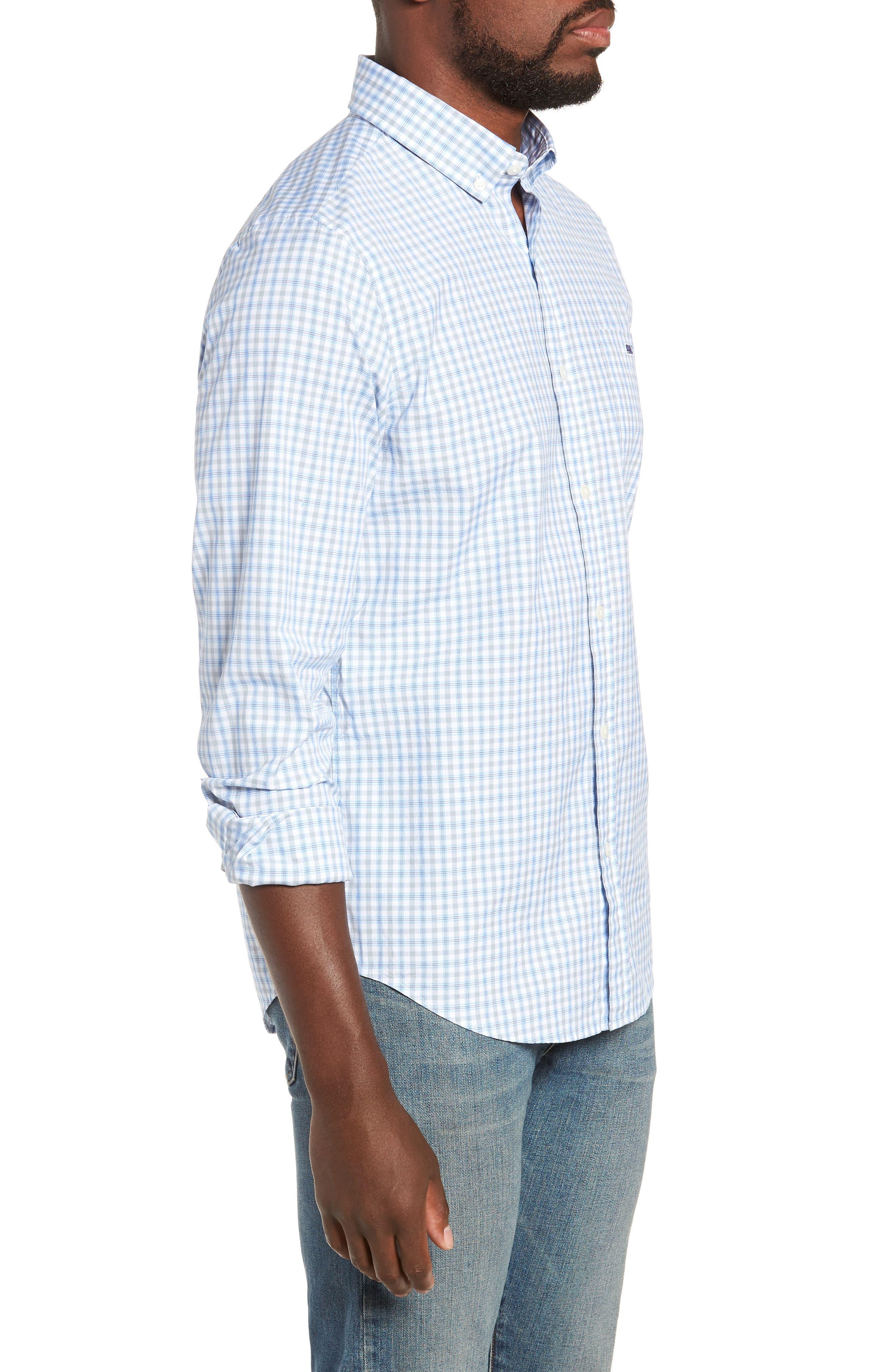 VINEYARD VINES,                             Murray Slim Fit Sport Shirt,                             Alternate thumbnail 4, color,                             034