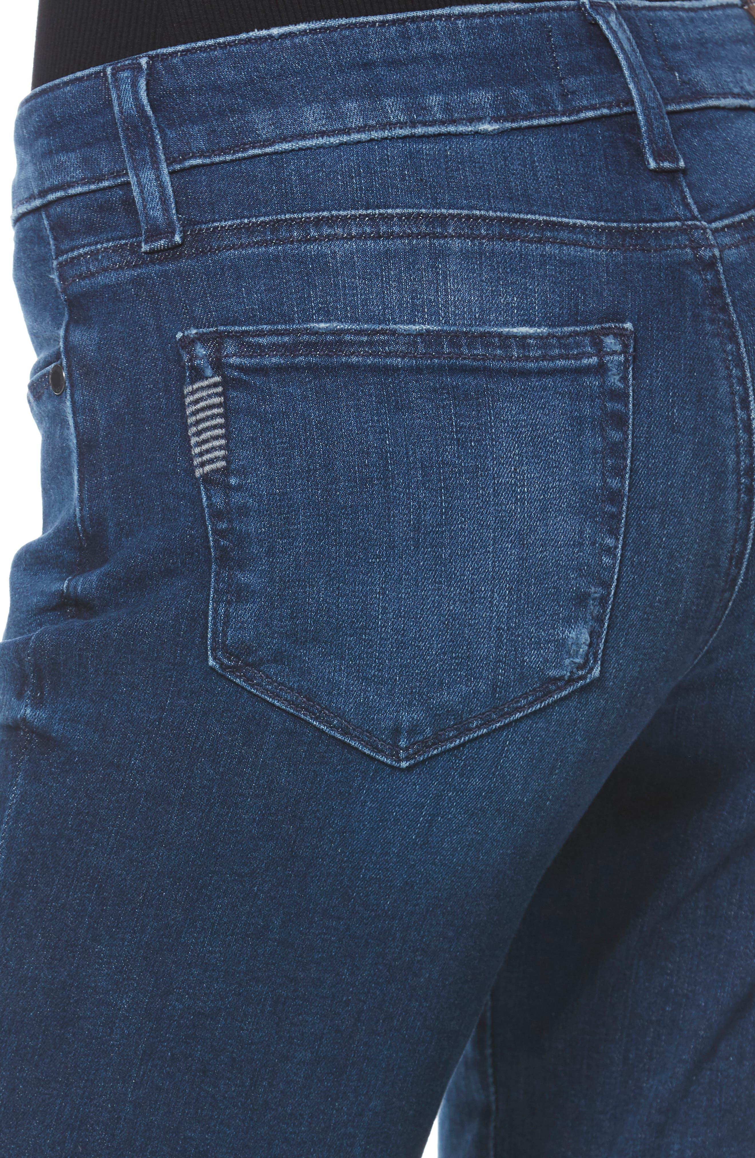 PAIGE,                             Brigitte Crop Boyfriend Jeans,                             Alternate thumbnail 4, color,                             NAPLES