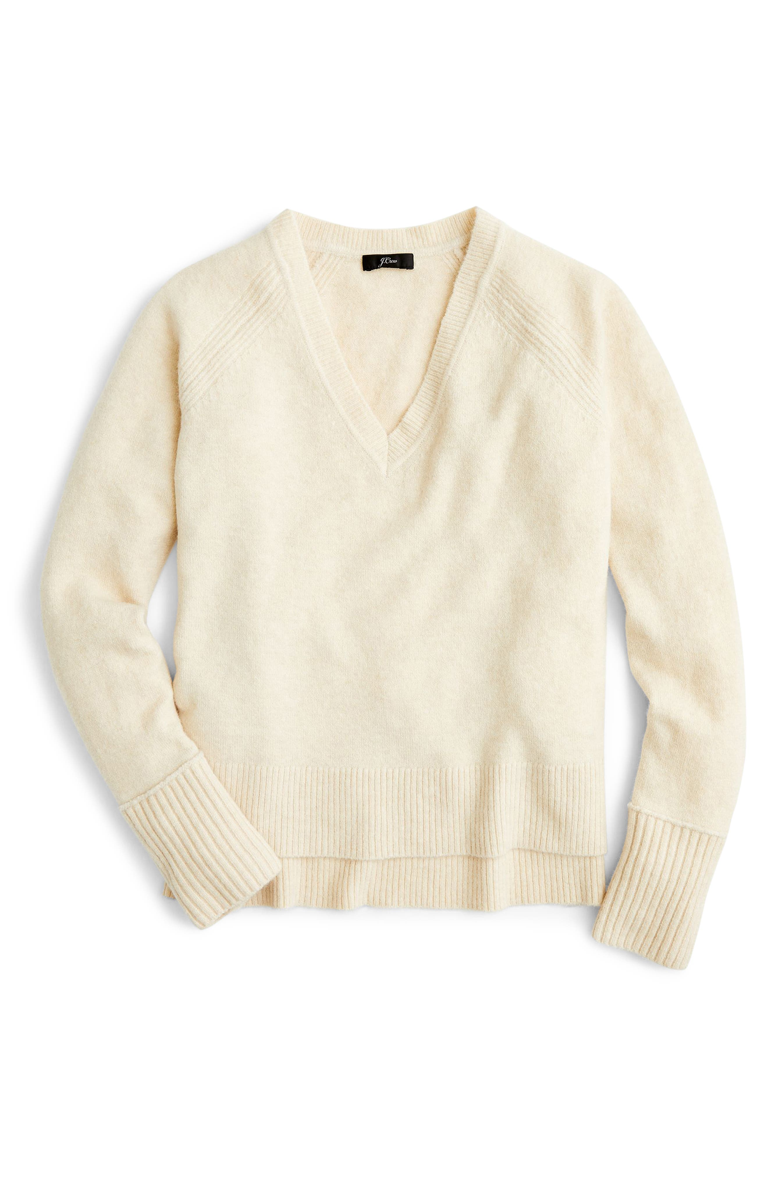 Supersoft Yarn V-Neck Sweater,                             Main thumbnail 13, color,