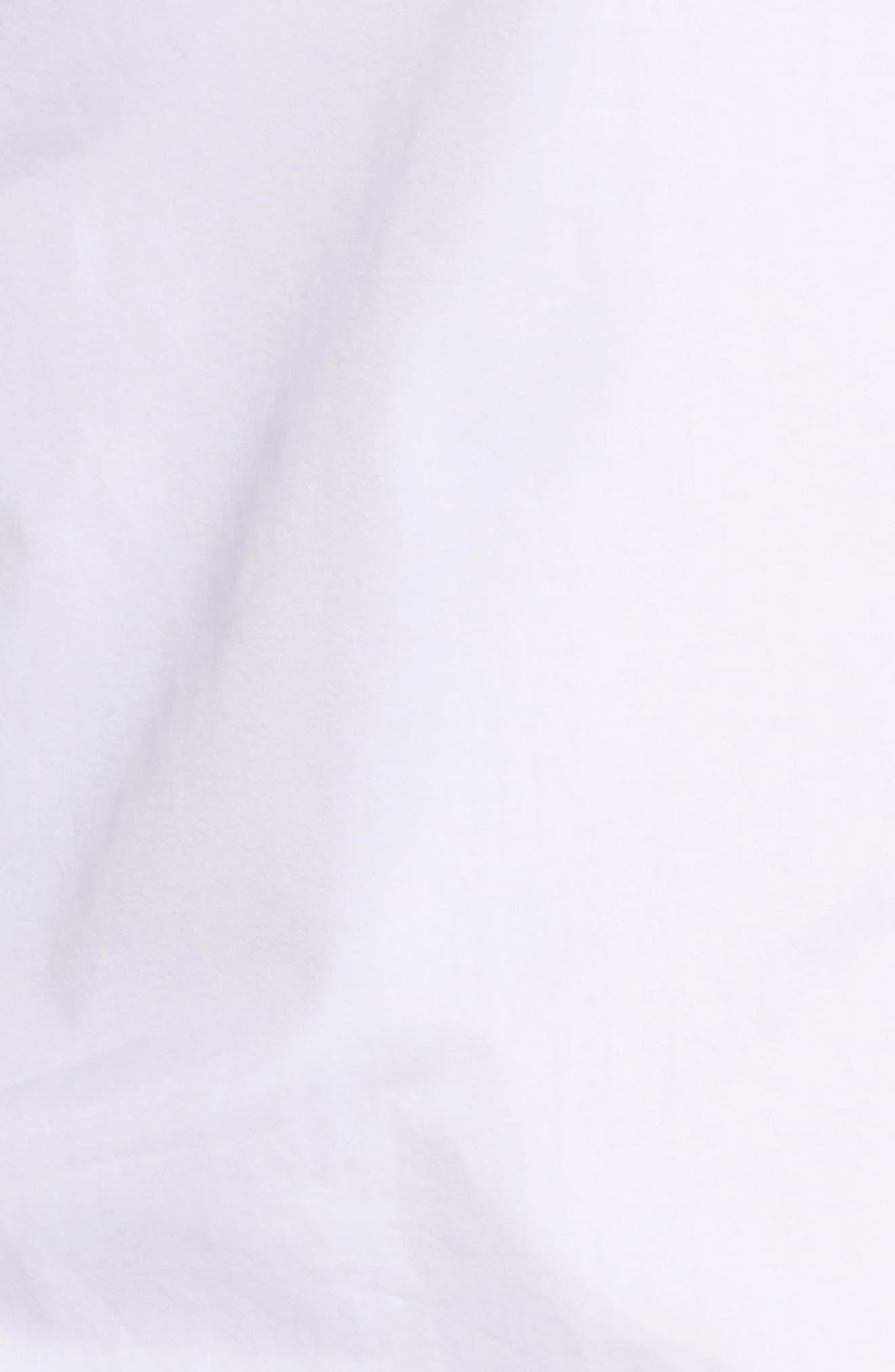 Piped Sleep Shirt,                             Alternate thumbnail 5, color,                             100
