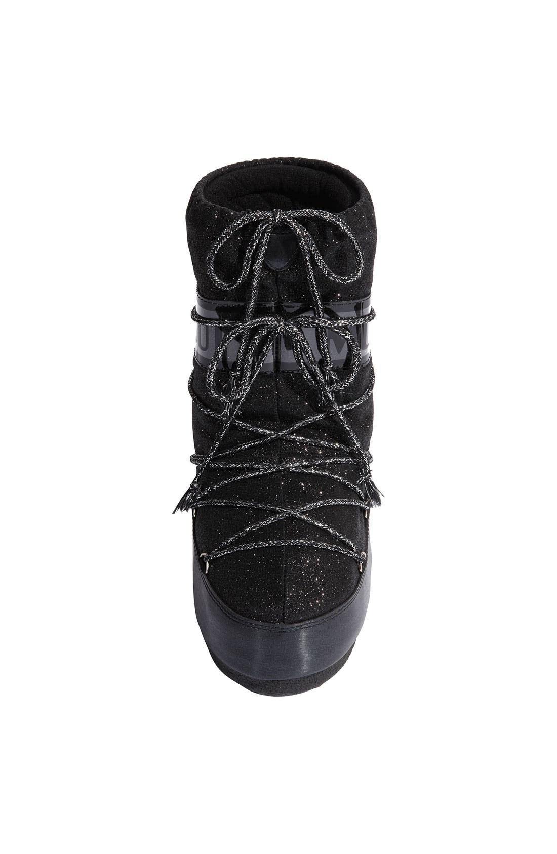 'Delux' Moon Boot<sup>®</sup>,                             Alternate thumbnail 3, color,                             001