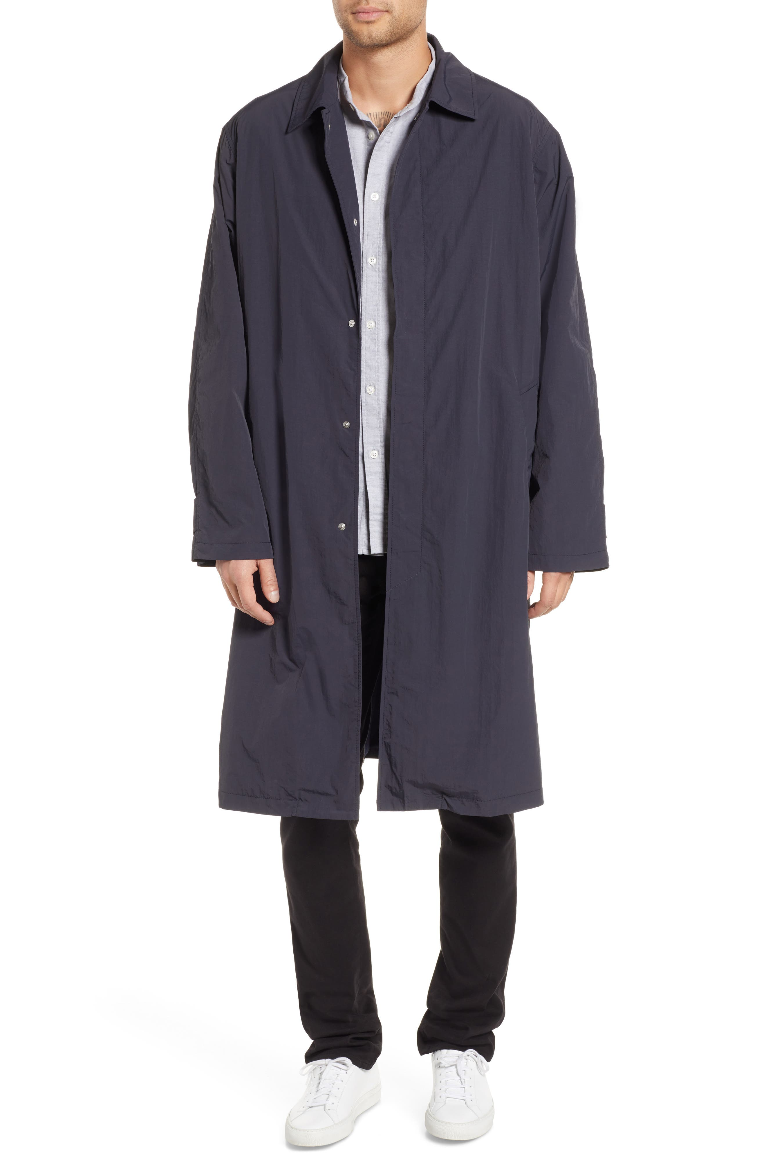 Relaxed Oversize Car Coat,                         Main,                         color, DARK NAVY