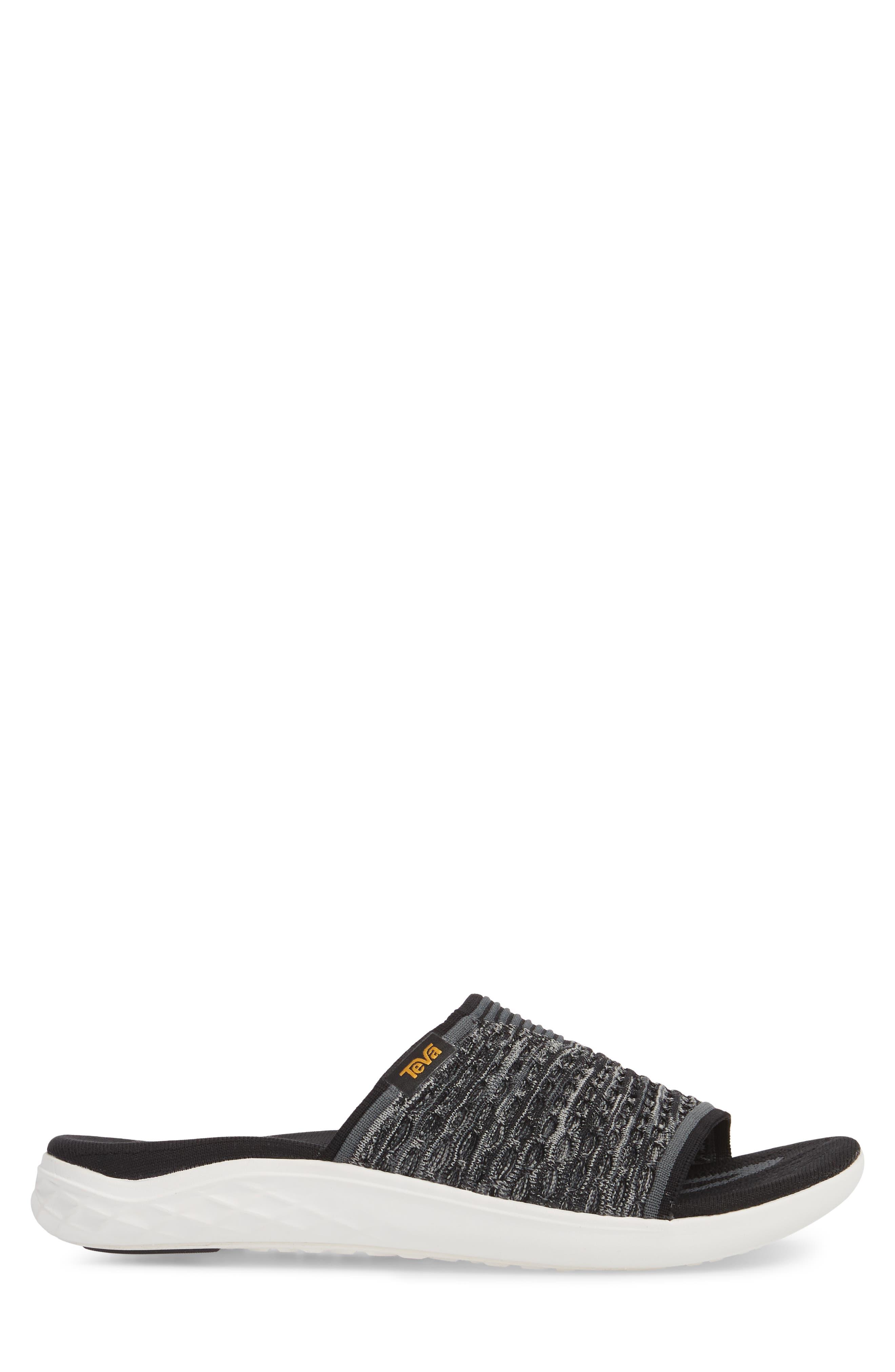 Terra-Float 2 Knit Slide Sandal,                             Alternate thumbnail 3, color,                             001