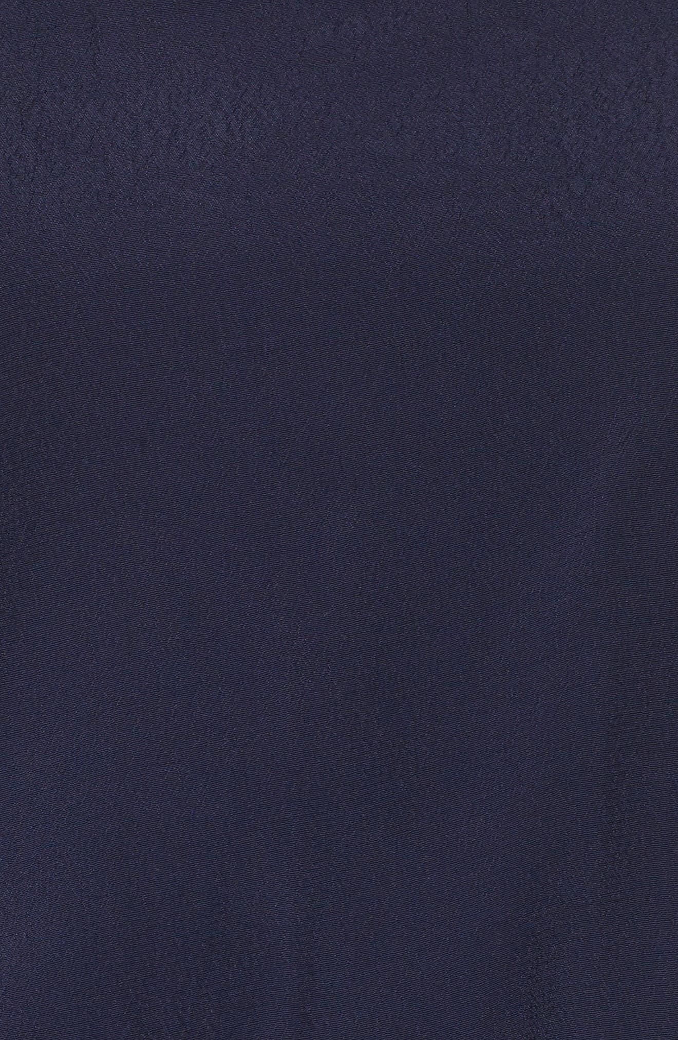 Cold Shoulder Halter Jumpsuit,                             Alternate thumbnail 5, color,                             NAVY