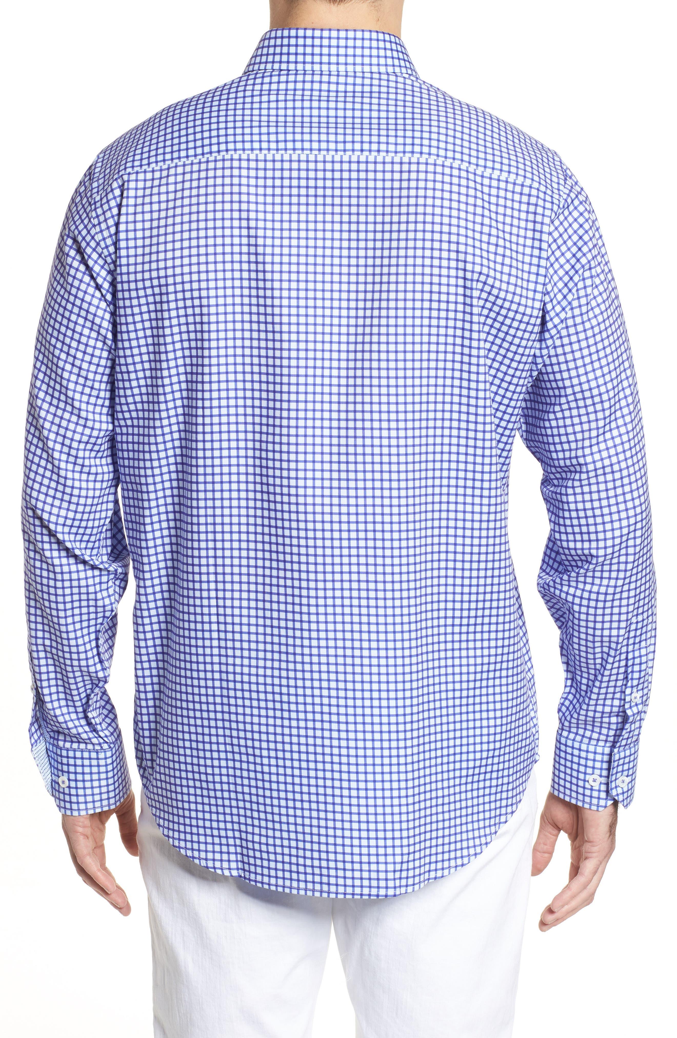 Classic Fit Check Sport Shirt,                             Alternate thumbnail 2, color,                             513
