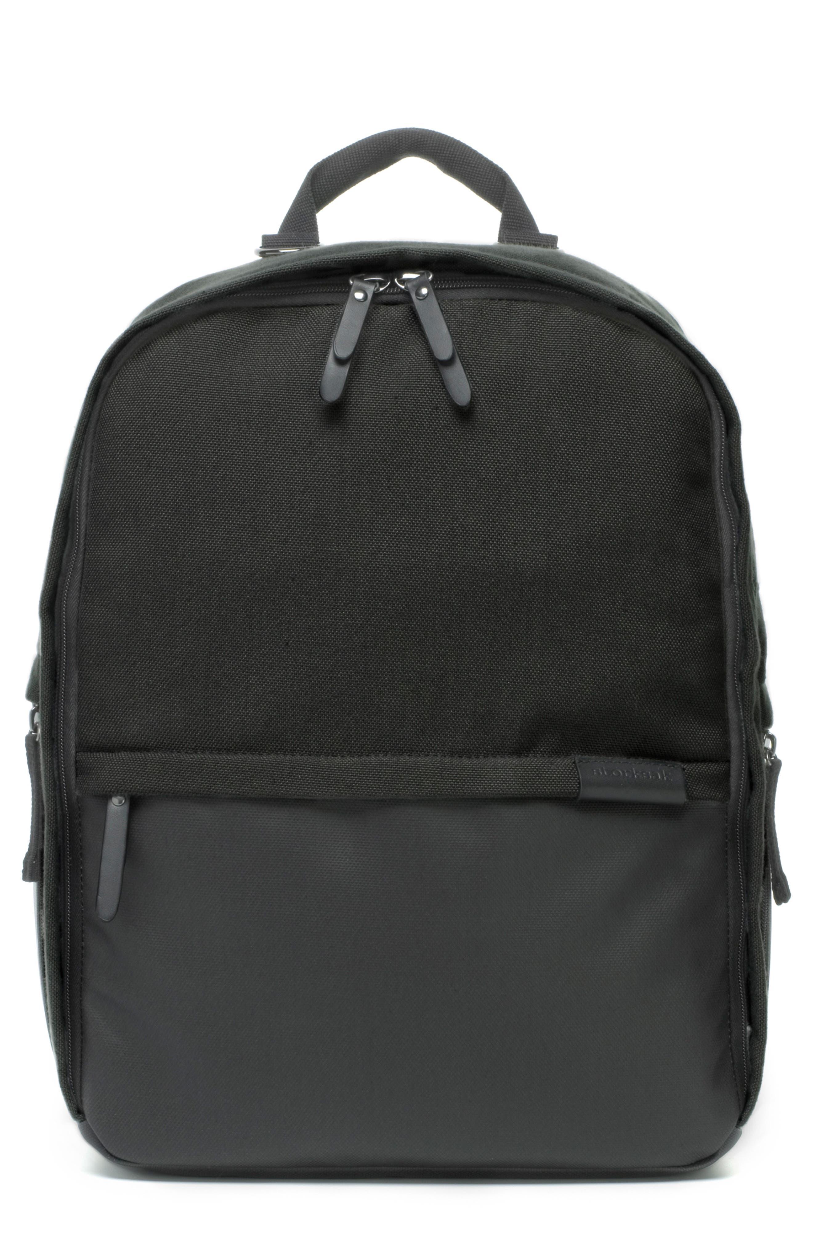 Taylor Diaper Backpack,                         Main,                         color, BLACK