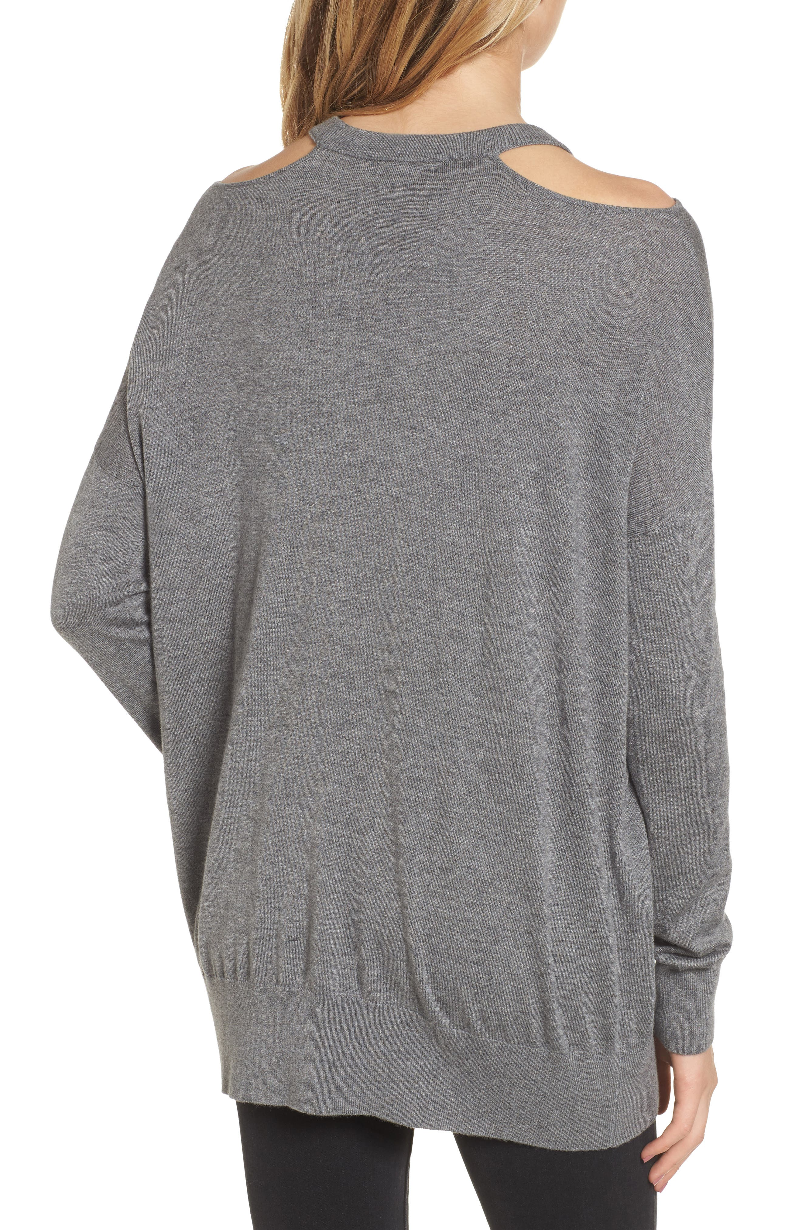 Canarise Cutout Sweater,                             Alternate thumbnail 2, color,                             039