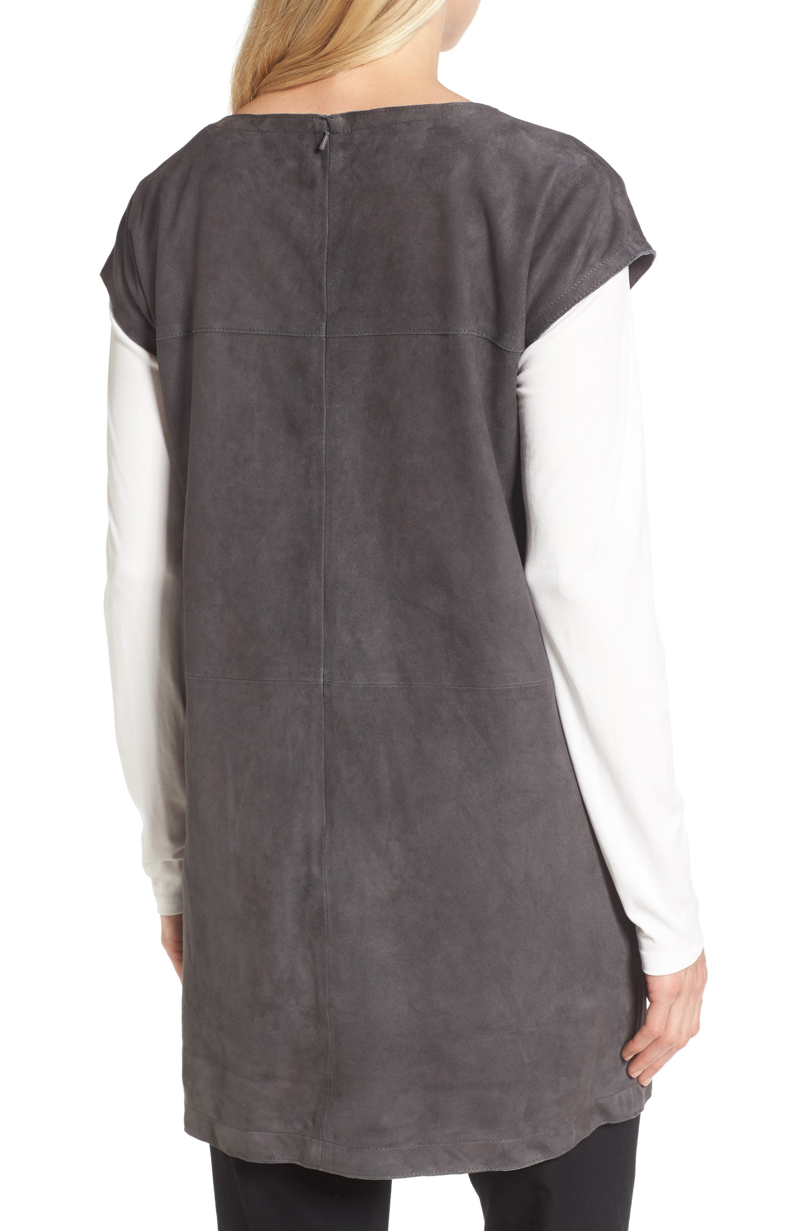Suede Tunic,                             Alternate thumbnail 2, color,                             210