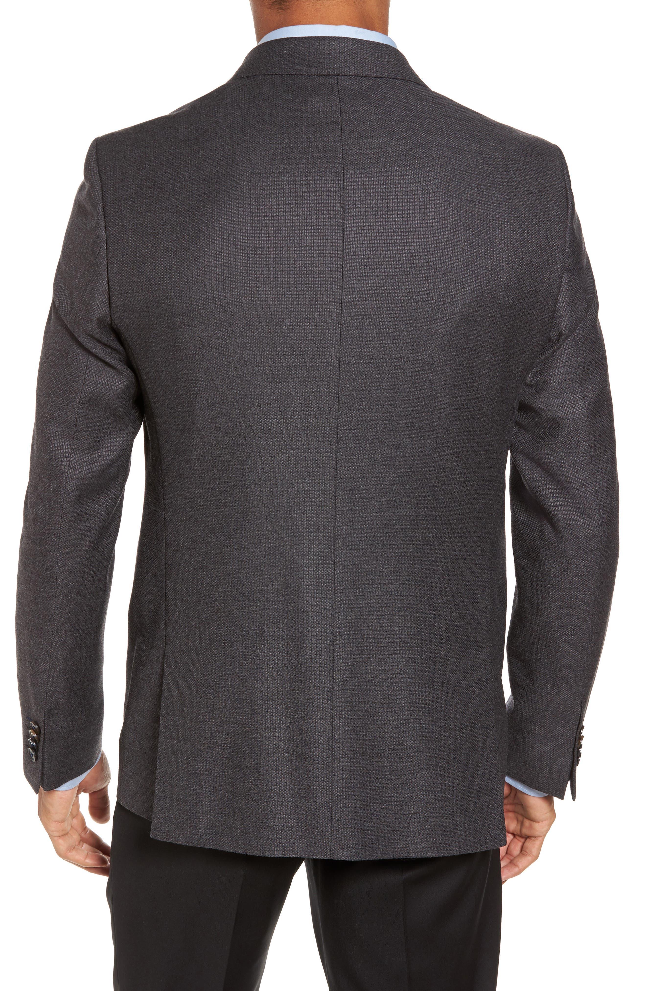 Trim Fit Wool Blazer,                             Alternate thumbnail 2, color,                             024