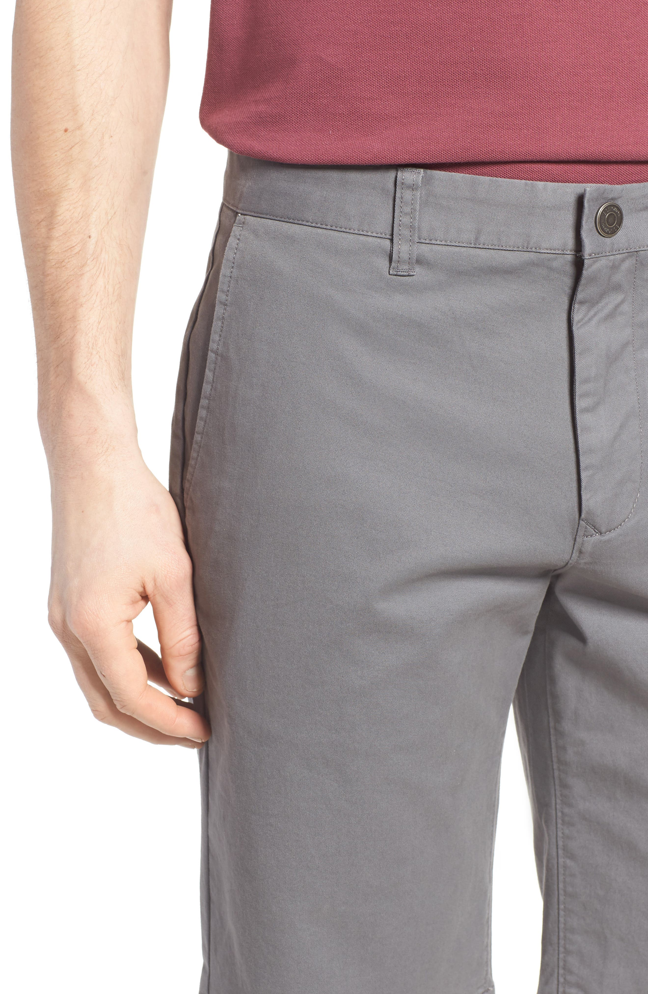 Stretch Washed Chino 11-Inch Shorts,                             Alternate thumbnail 76, color,