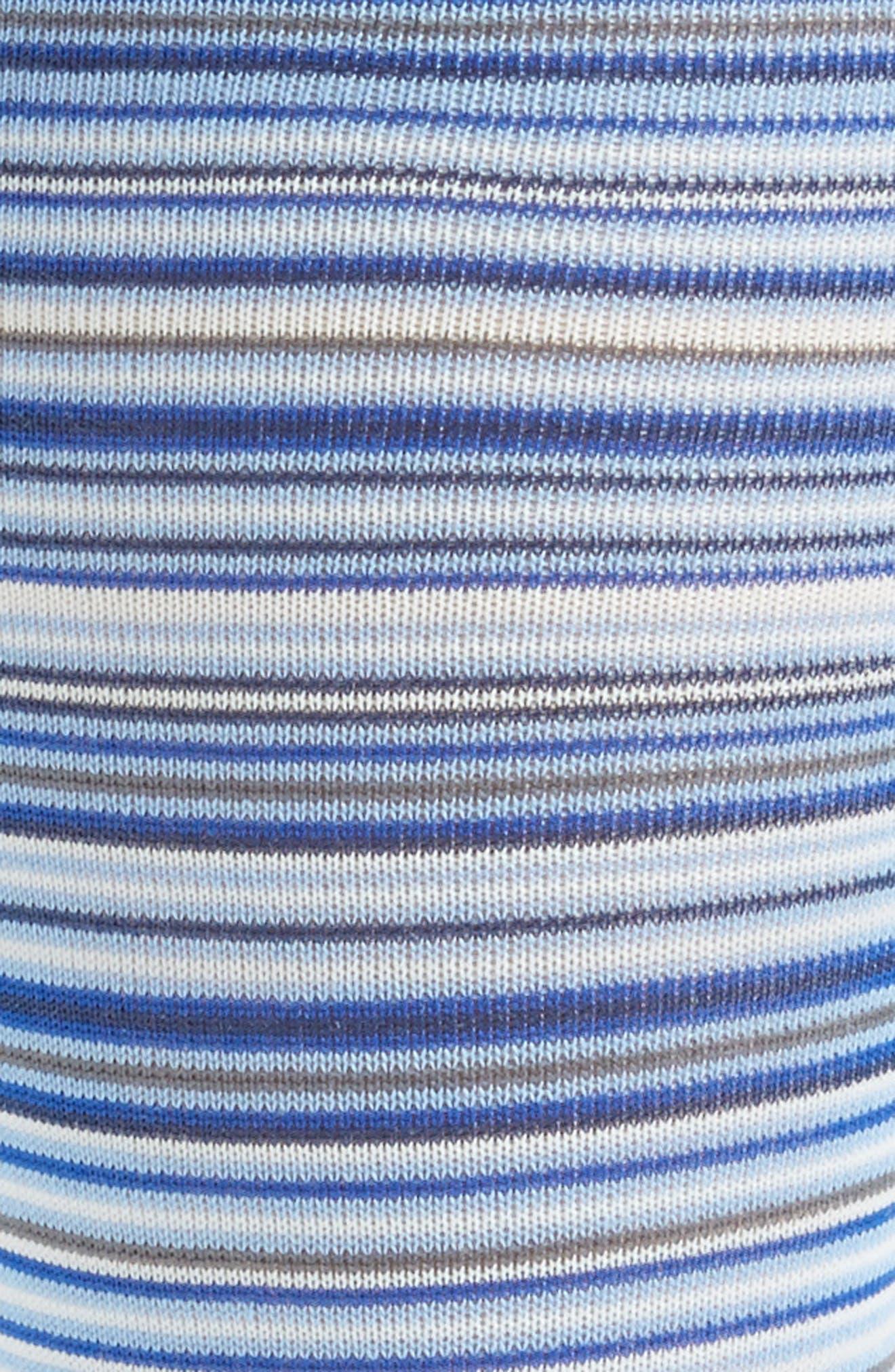 Multistripe Crew Socks,                             Alternate thumbnail 17, color,