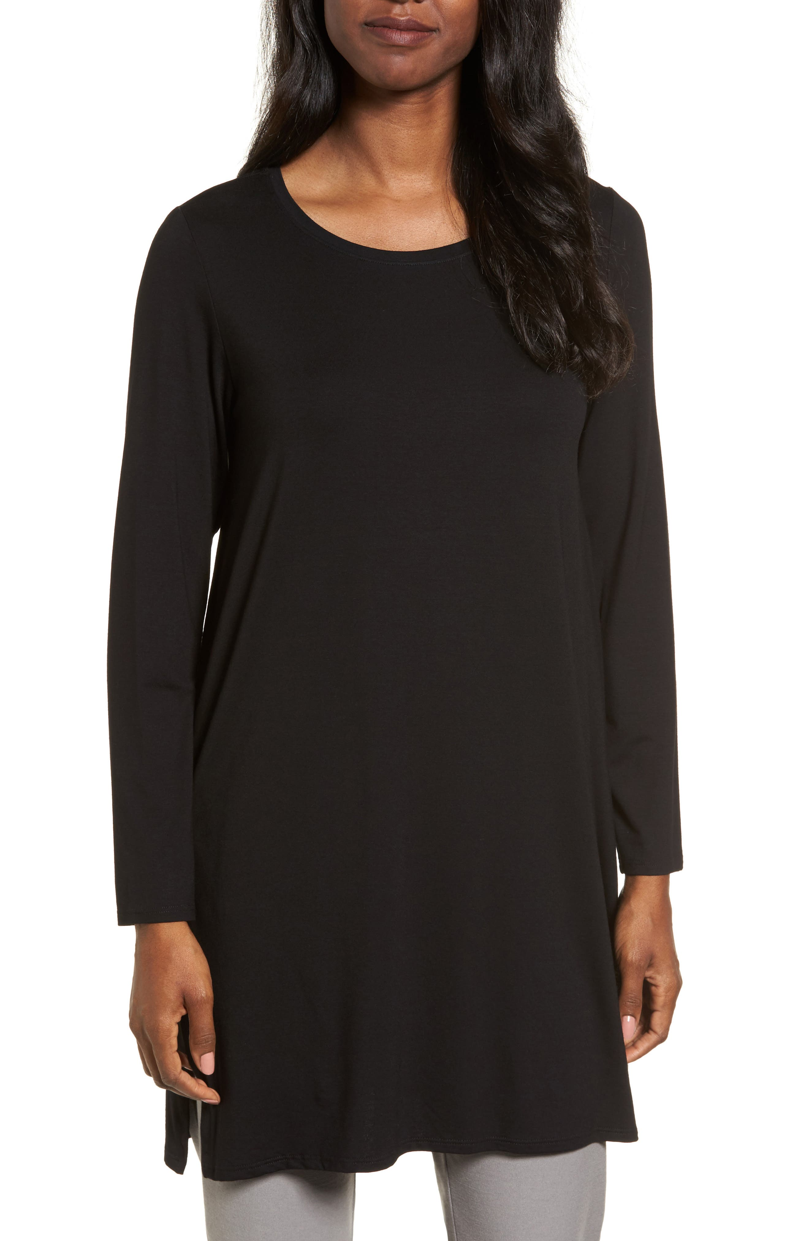 Jersey Tunic,                         Main,                         color, 001