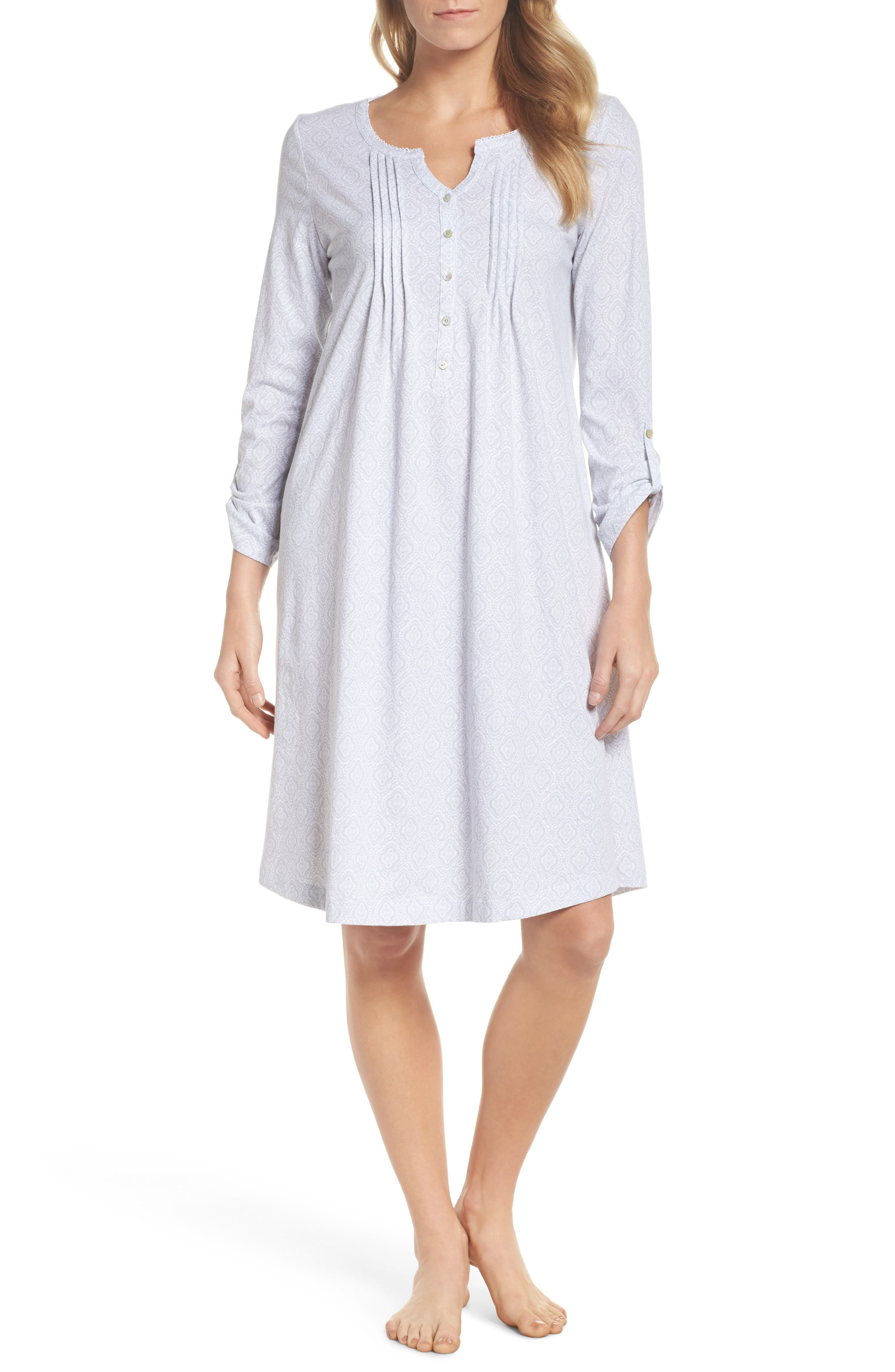 Cotton Jersey Waltz Nightgown,                             Main thumbnail 1, color,