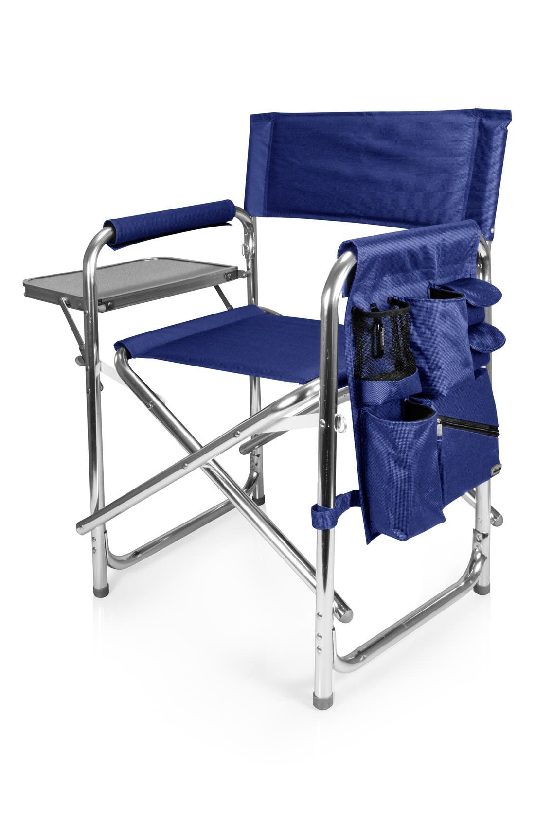 'Sports' Folding Chair,                             Main thumbnail 1, color,                             NAVY