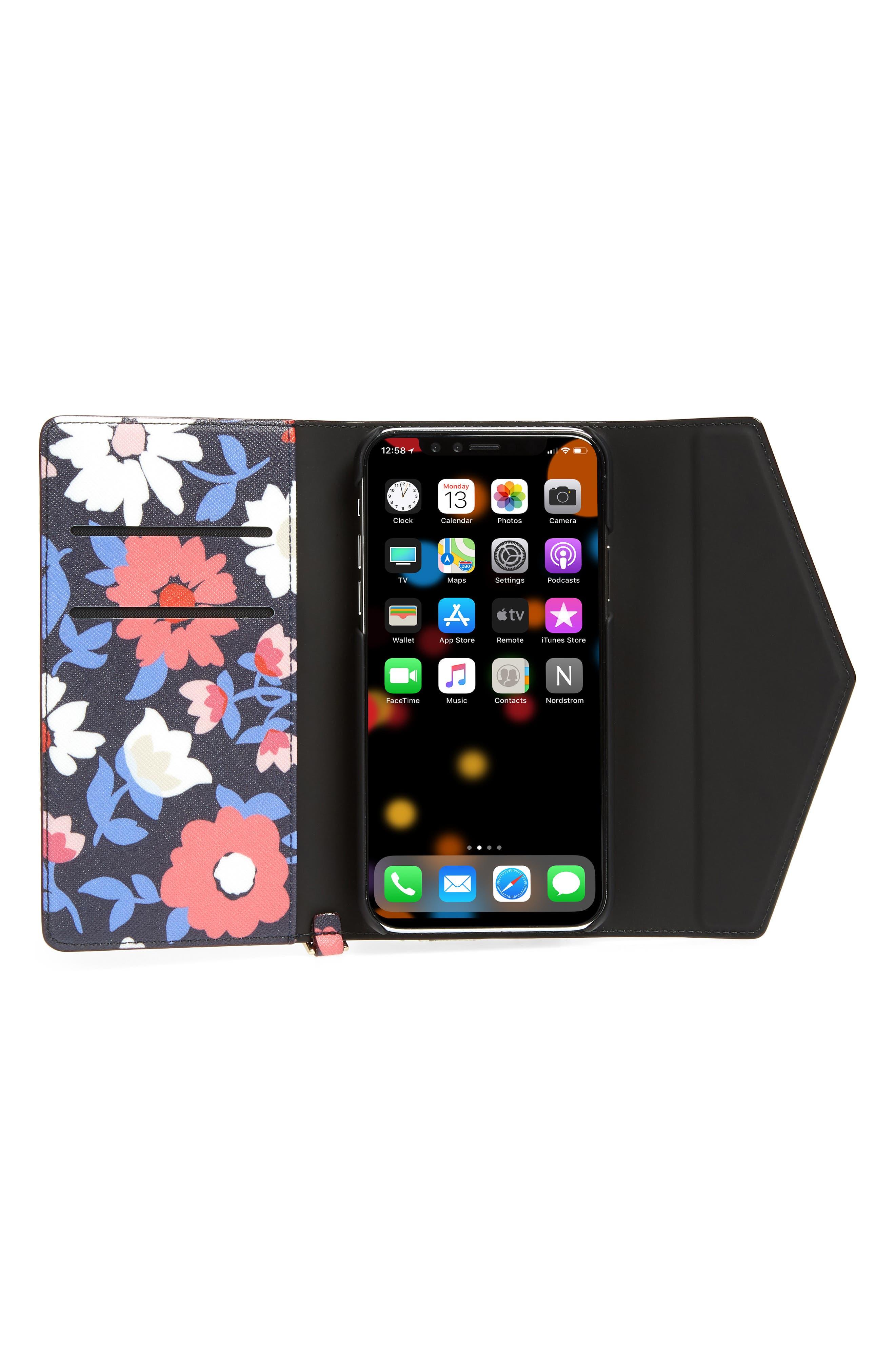 daisy iPhone X & Xs wristlet,                             Alternate thumbnail 4, color,                             460