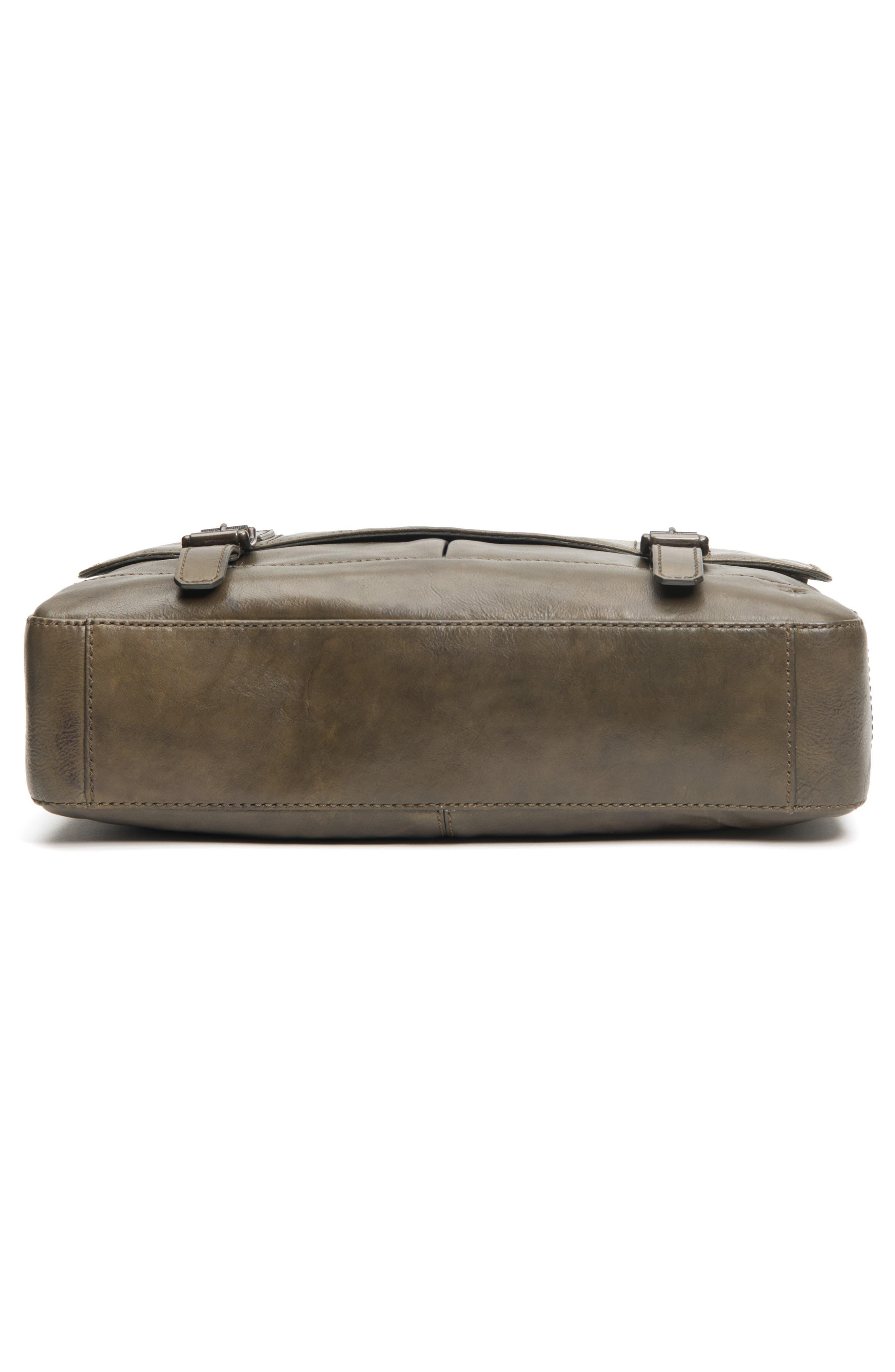 'Oliver' Leather Messenger Bag,                             Alternate thumbnail 6, color,                             311