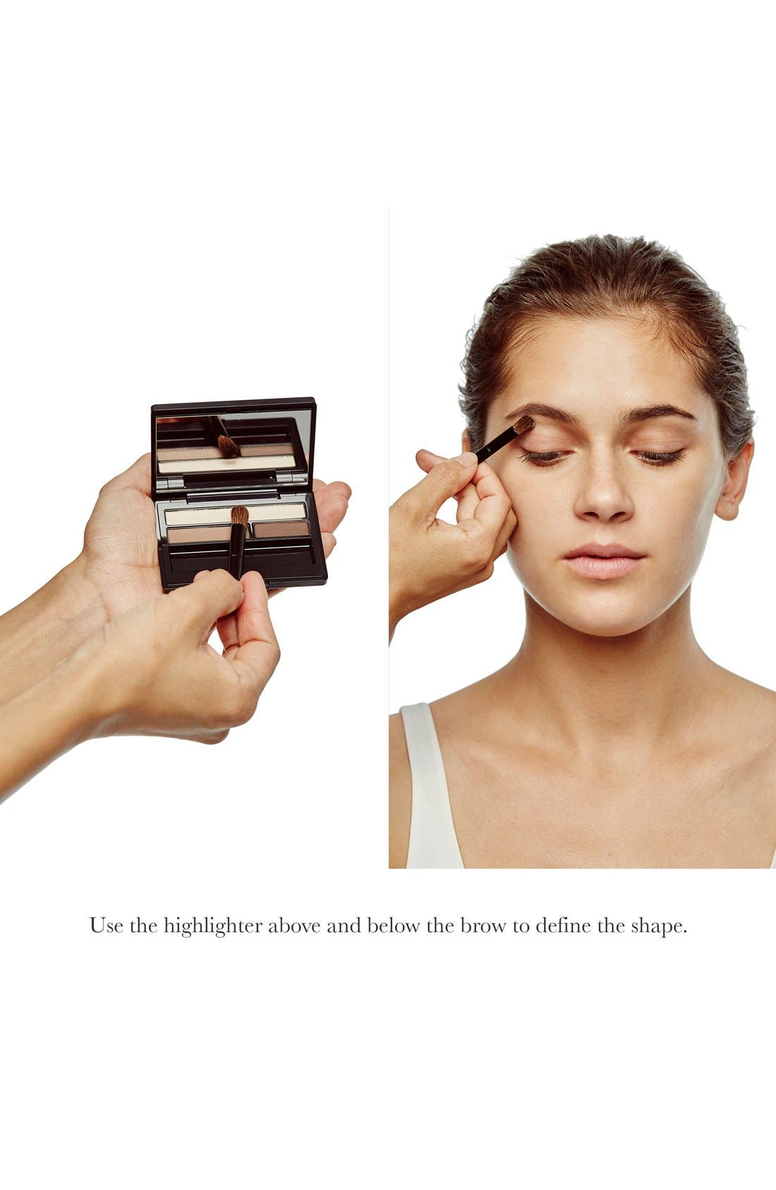 Eyebrow & Eyeliner Compact,                             Alternate thumbnail 3, color,                             1