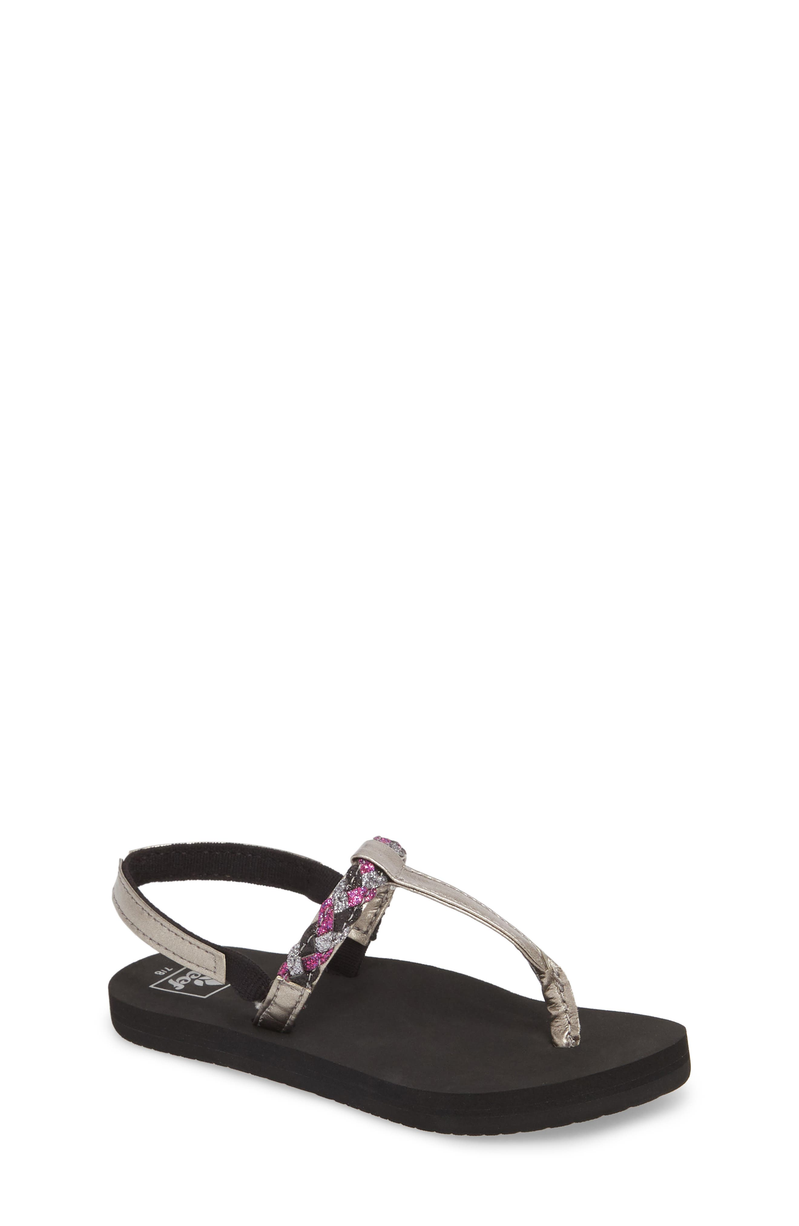Little Twisted Stars II Water Repellent Flip Flop,                         Main,                         color,