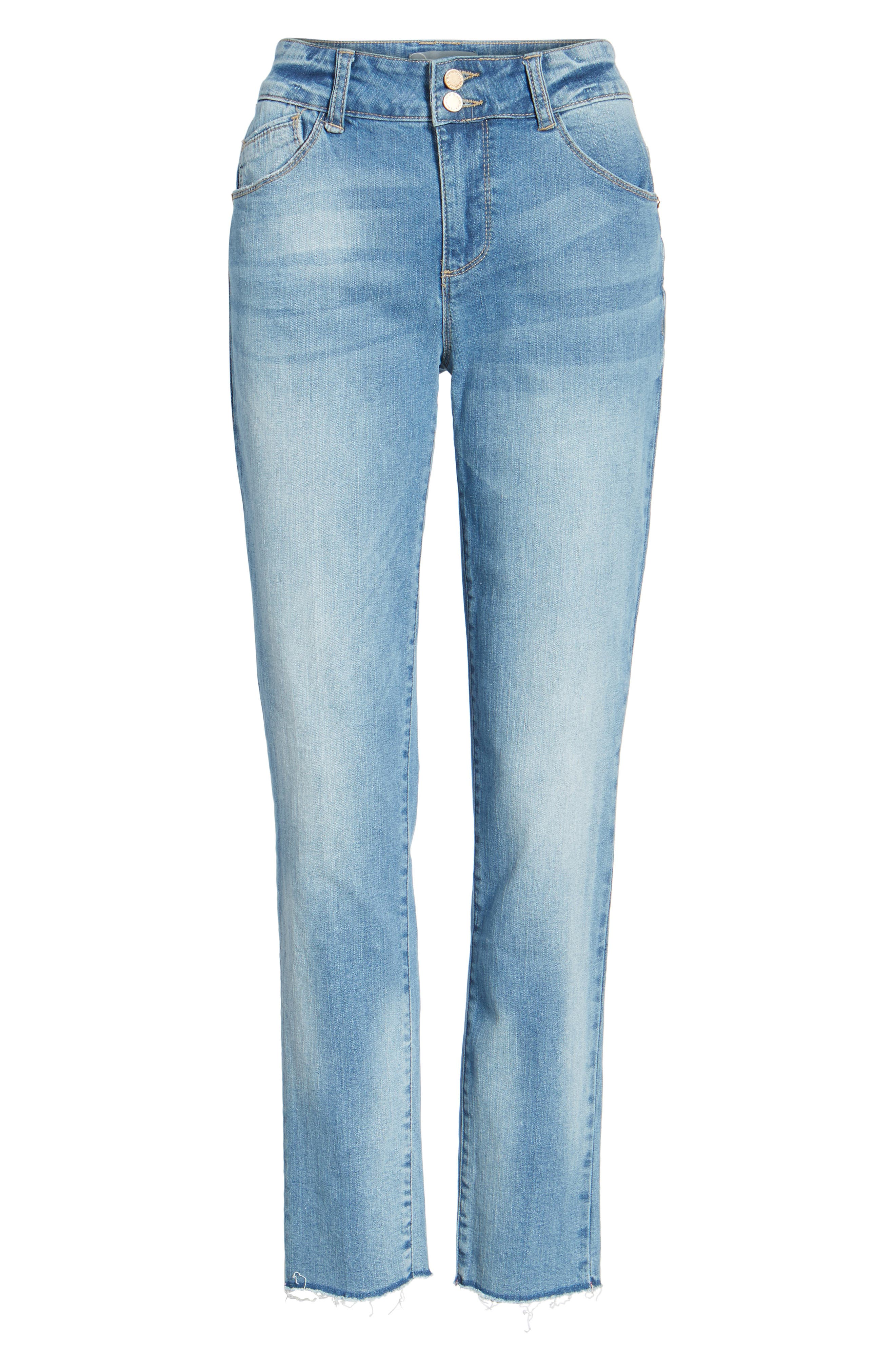 Two-Button High Waist Skinny Jeans,                             Alternate thumbnail 12, color,