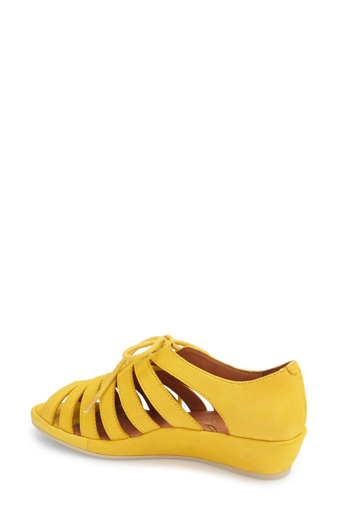 'Bellina' Wedge Sandal,                             Alternate thumbnail 12, color,