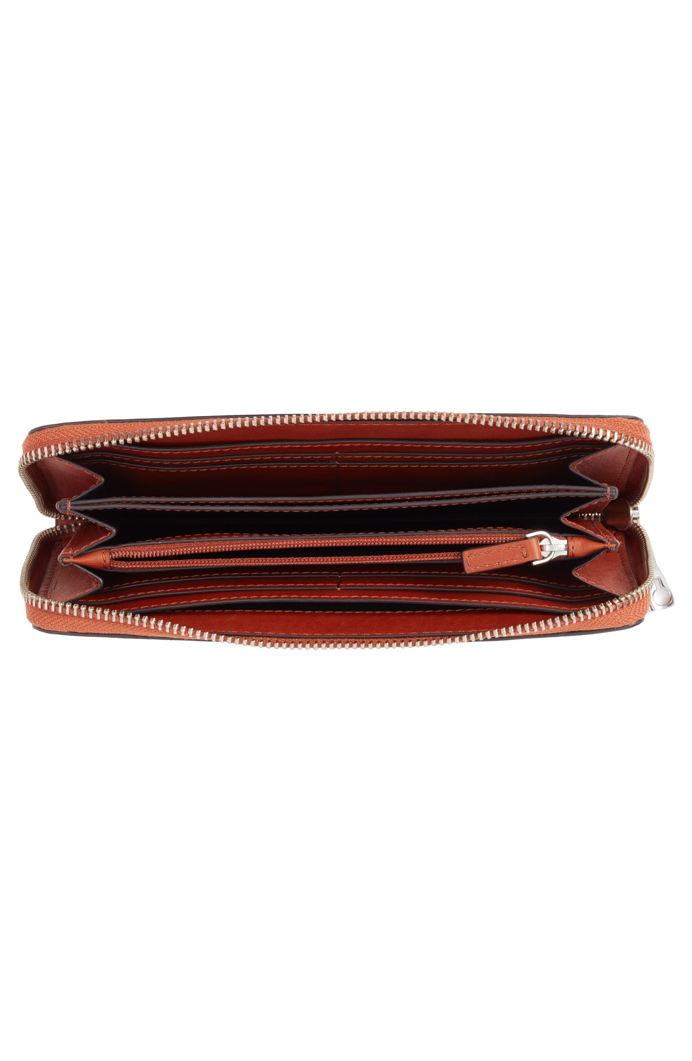 Continental Zip Wallet,                             Alternate thumbnail 4, color,
