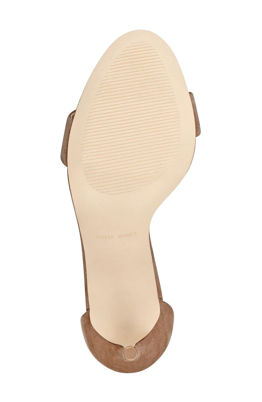 'Mana' Ankle Strap Sandal,                             Alternate thumbnail 21, color,