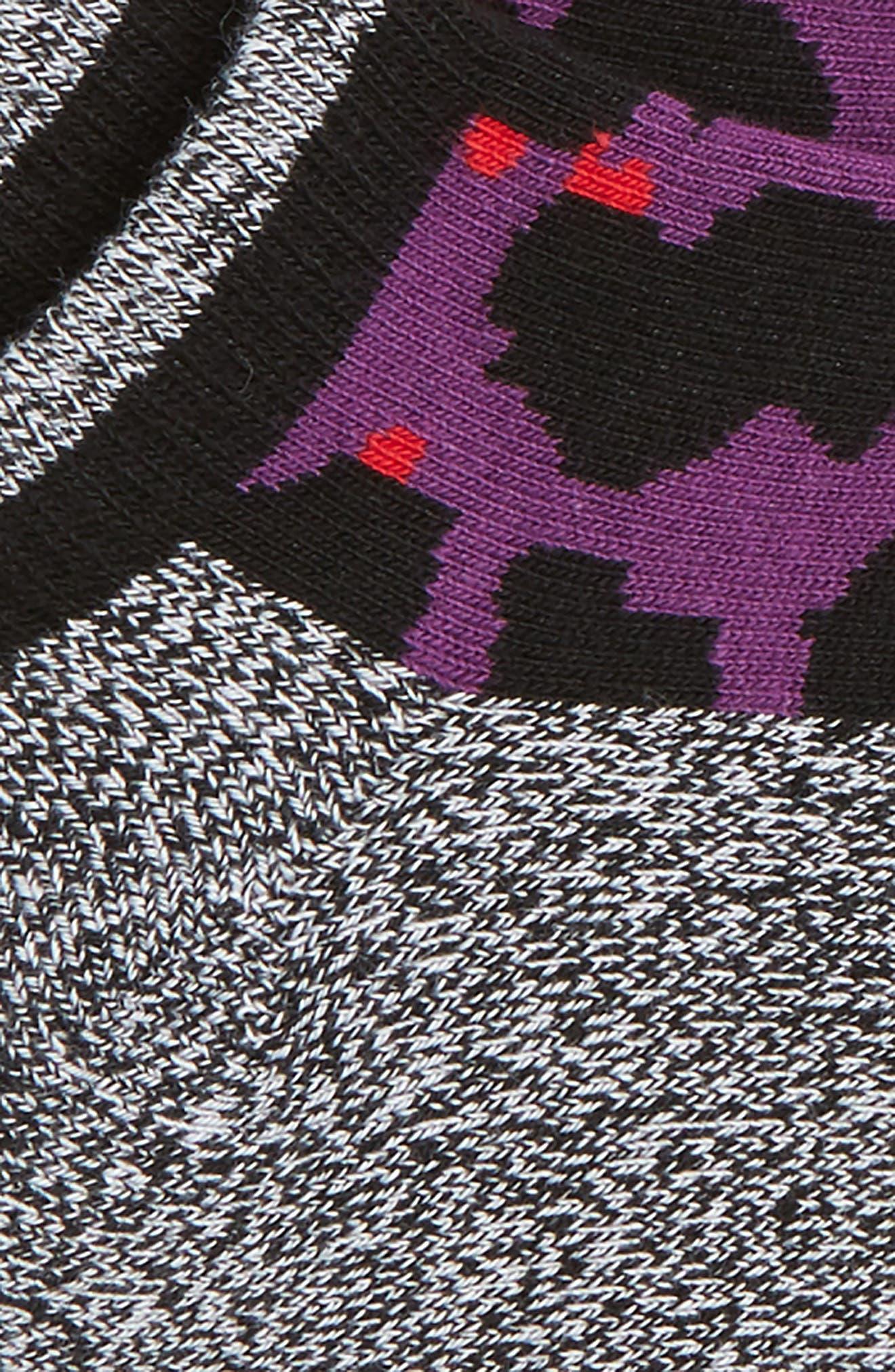 Leopard Low Cut Socks,                             Alternate thumbnail 2, color,                             511