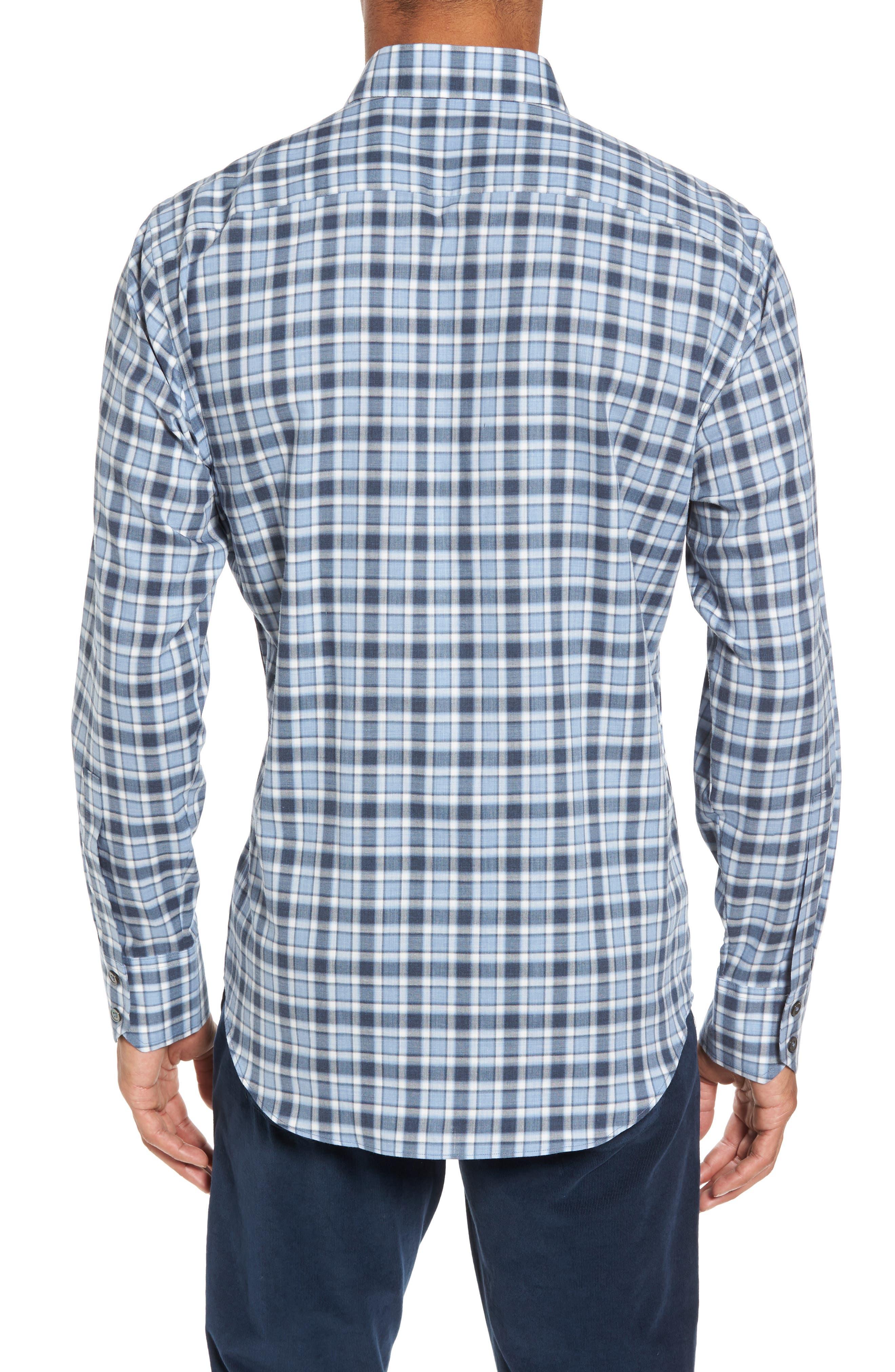 Lobban Slim Fit Check Sport Shirt,                             Alternate thumbnail 2, color,                             452
