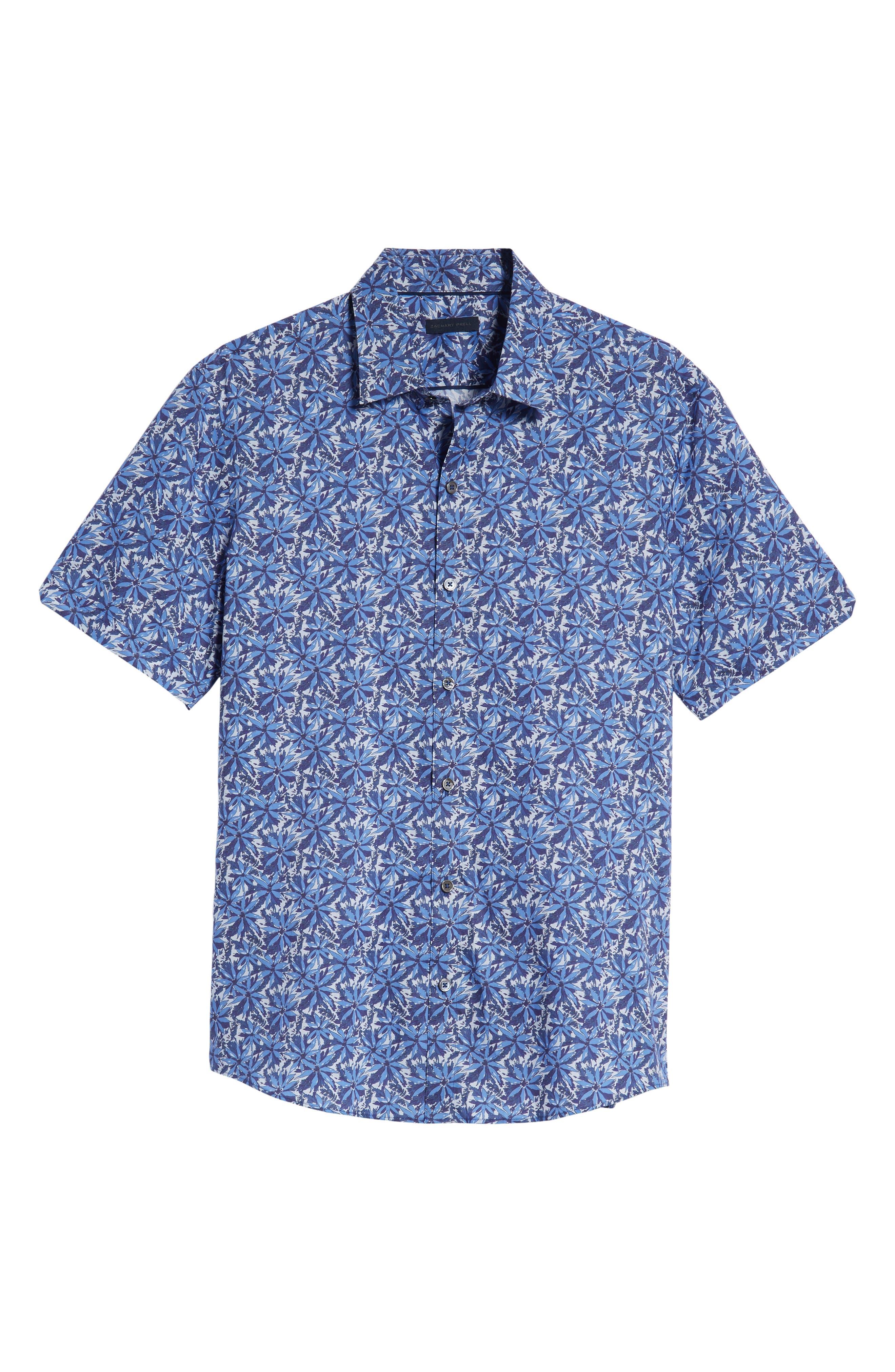 ZACHARY PRELL,                             Ose Regular Fit Sport Shirt,                             Alternate thumbnail 5, color,                             400