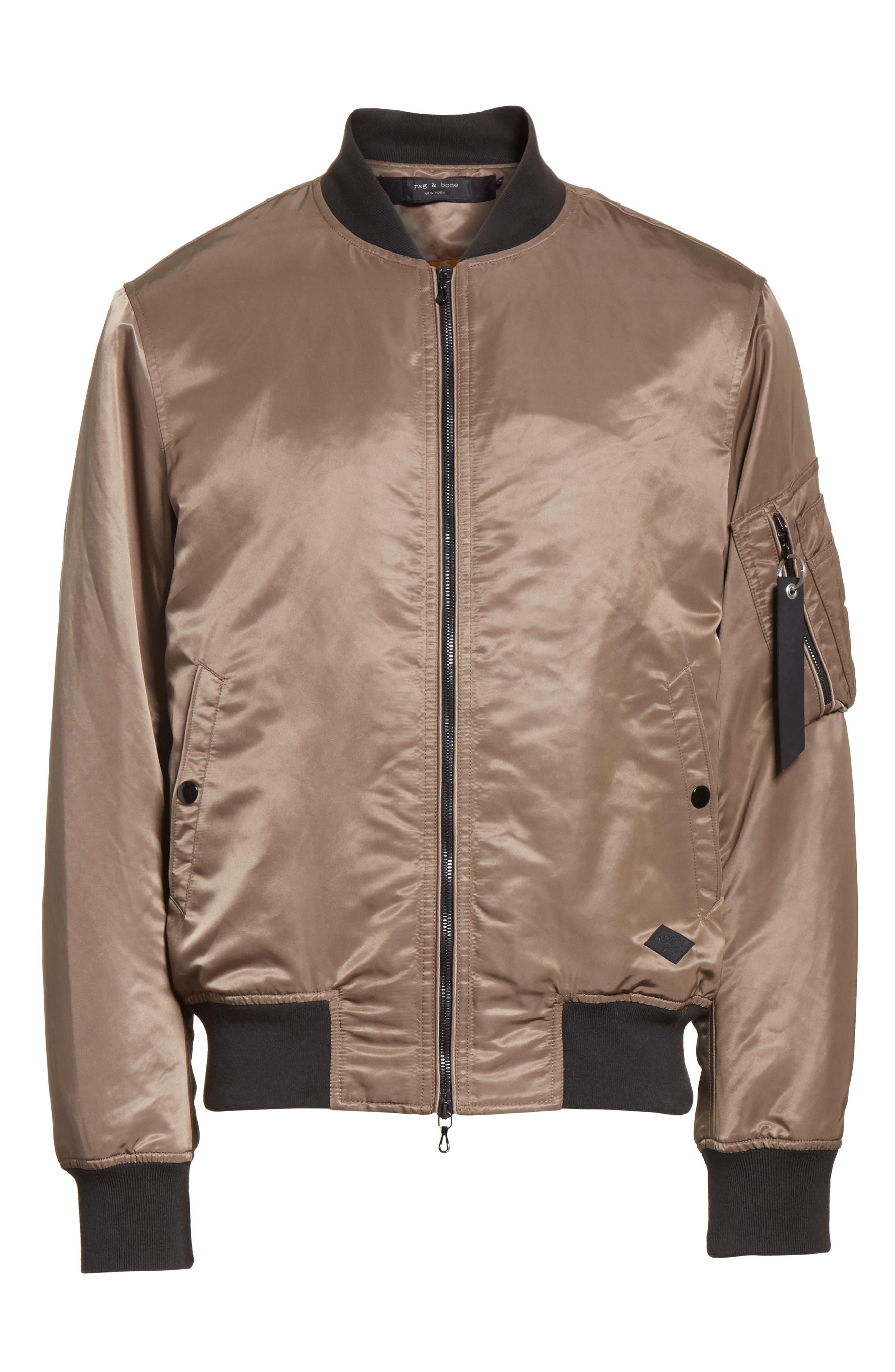 Manston Bomber Jacket,                             Alternate thumbnail 5, color,                             200