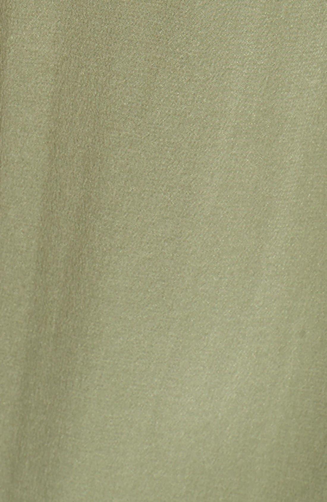 'Slim Signature' Sleeveless Silk Shirt,                             Alternate thumbnail 113, color,