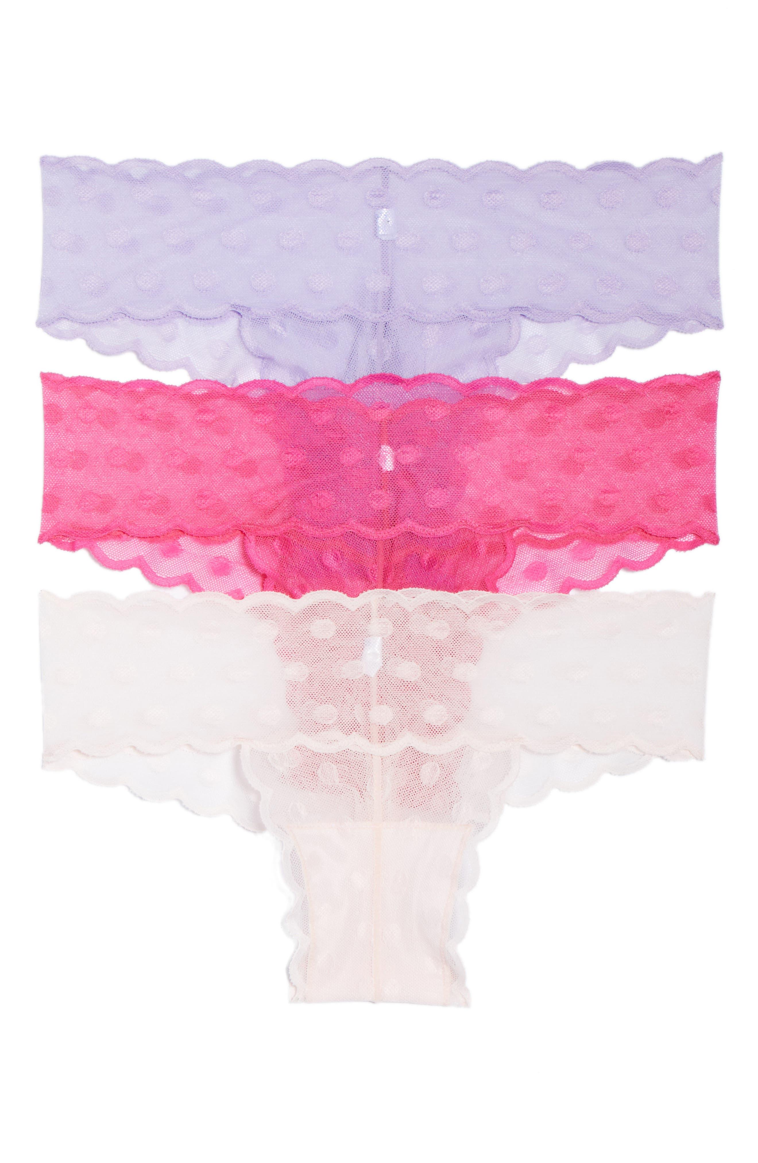 Bonita 3-Pack Cheeky Bikinis,                             Main thumbnail 2, color,