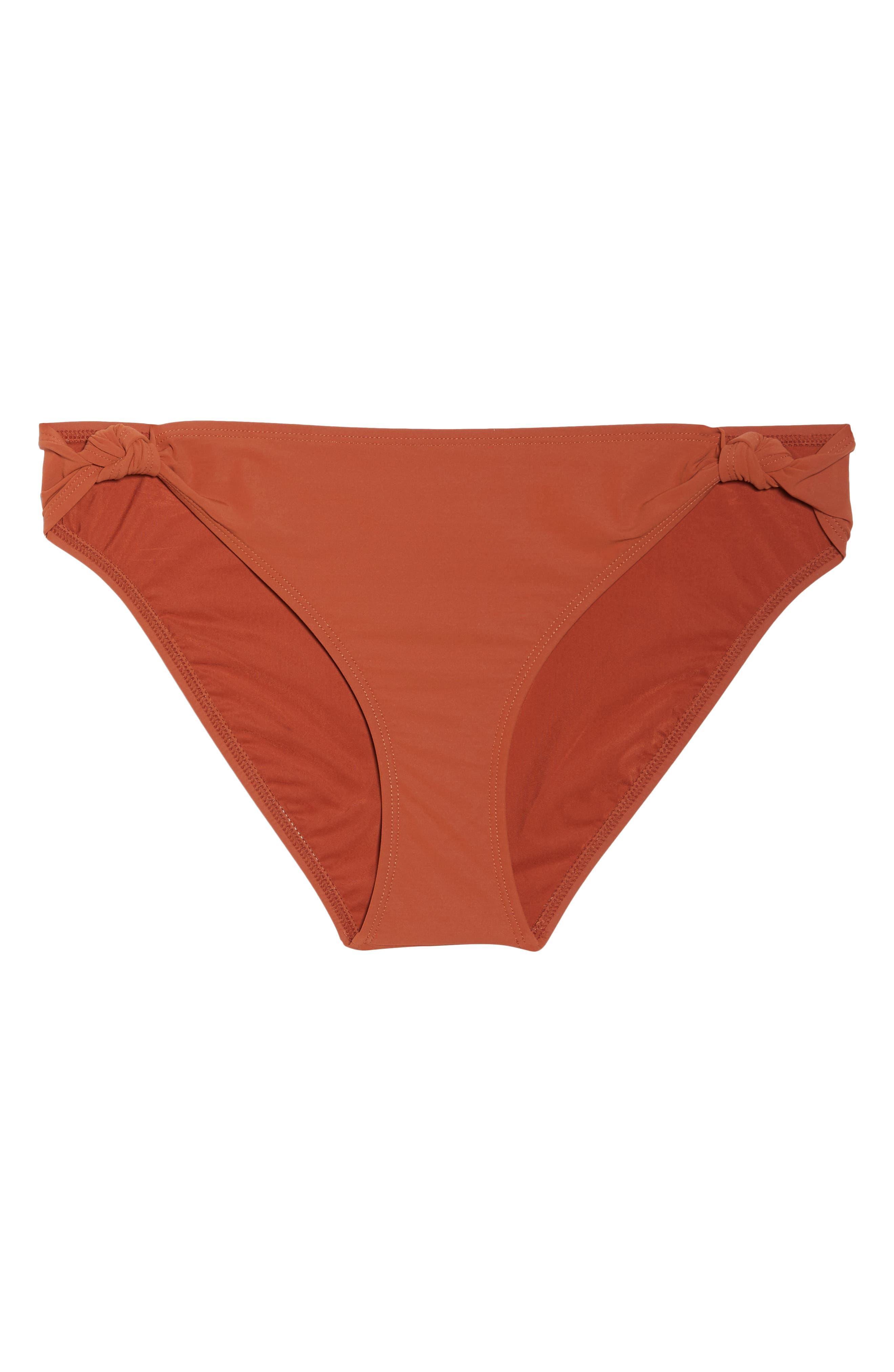 Palma Hipster Bikini Bottoms,                             Alternate thumbnail 6, color,                             DESERT SPICE