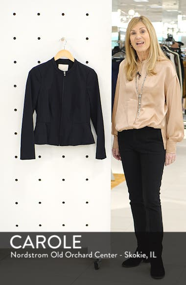 Ava Peplum Jacket, sales video thumbnail