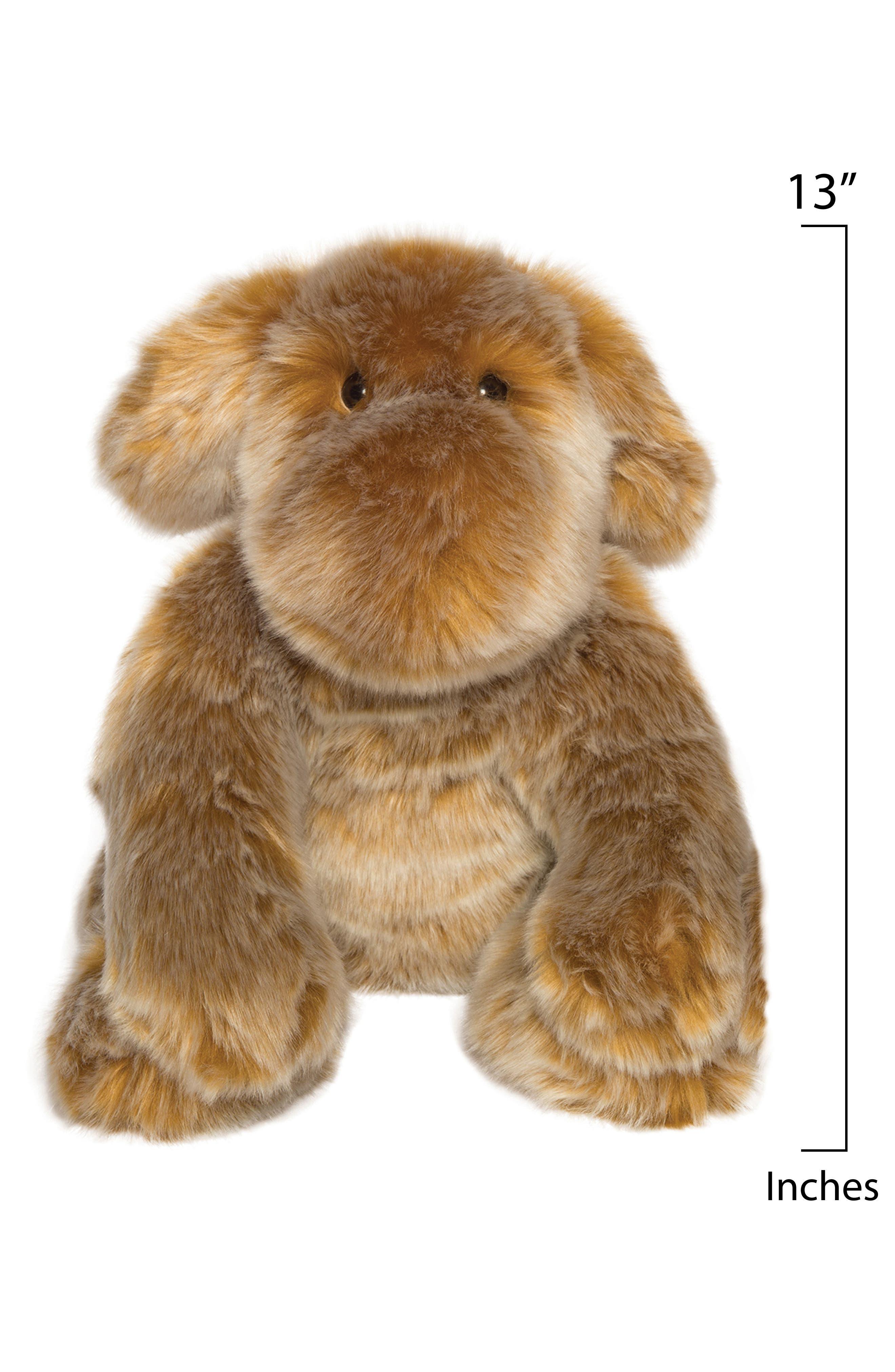 Luxe Saffron Dog Stuffed Animal,                             Alternate thumbnail 2, color,                             200