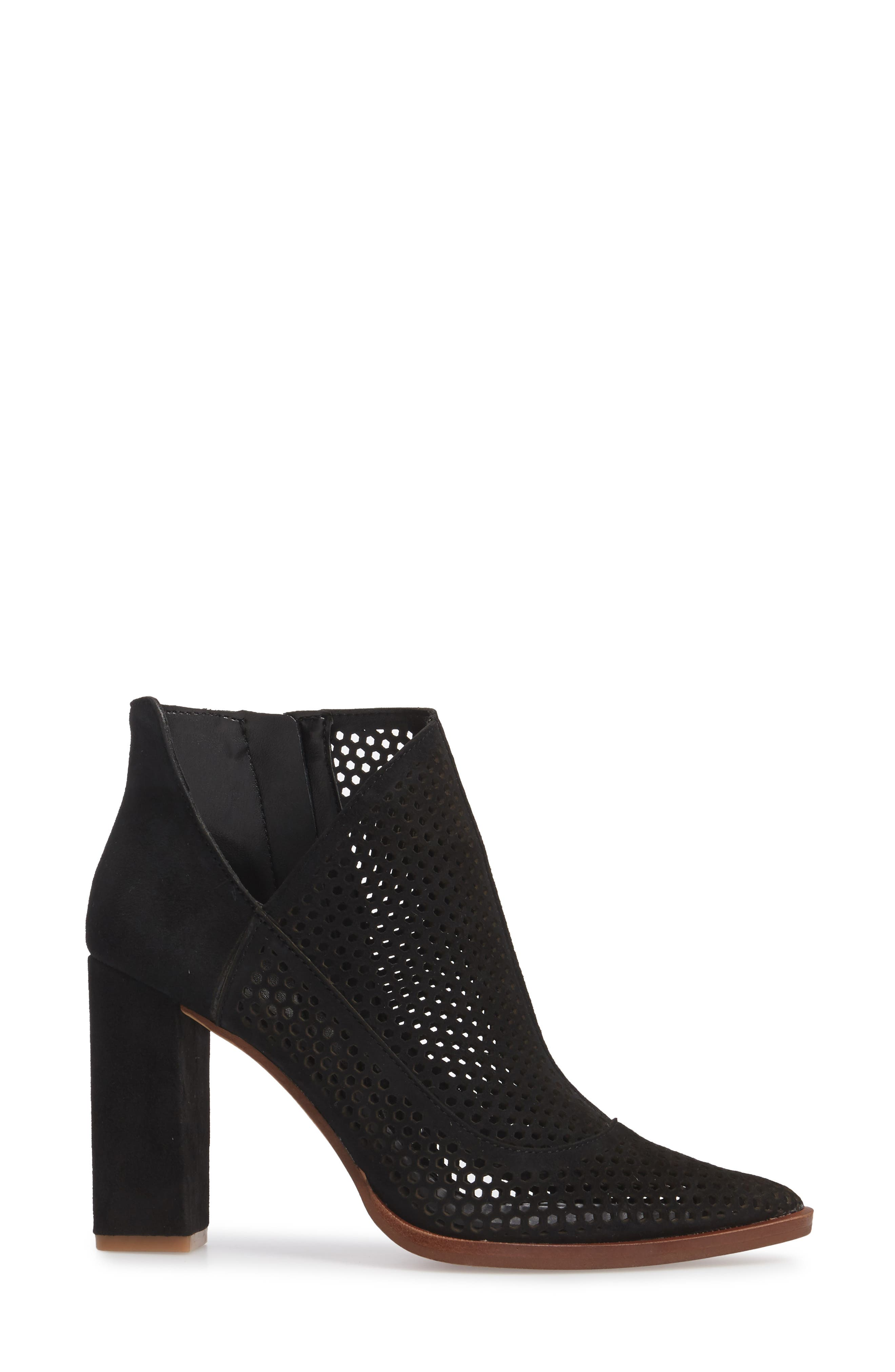 Levesna Bootie,                             Alternate thumbnail 3, color,                             001