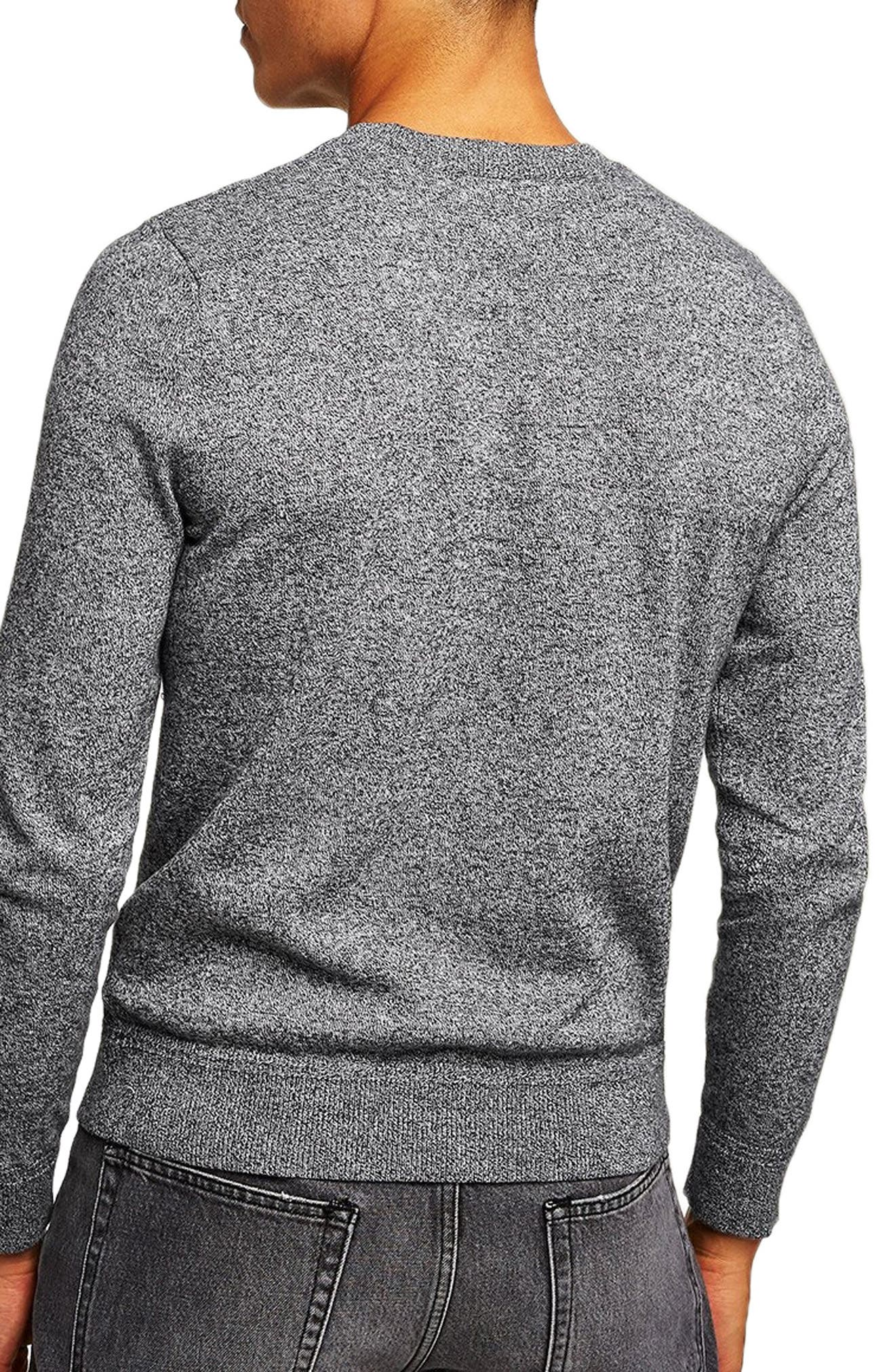 Classic Fit Twist Crewneck Sweater,                             Alternate thumbnail 2, color,                             020