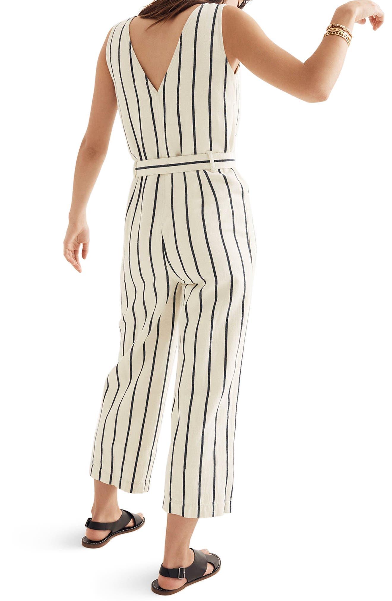Stripe Jumpsuit,                             Alternate thumbnail 2, color,