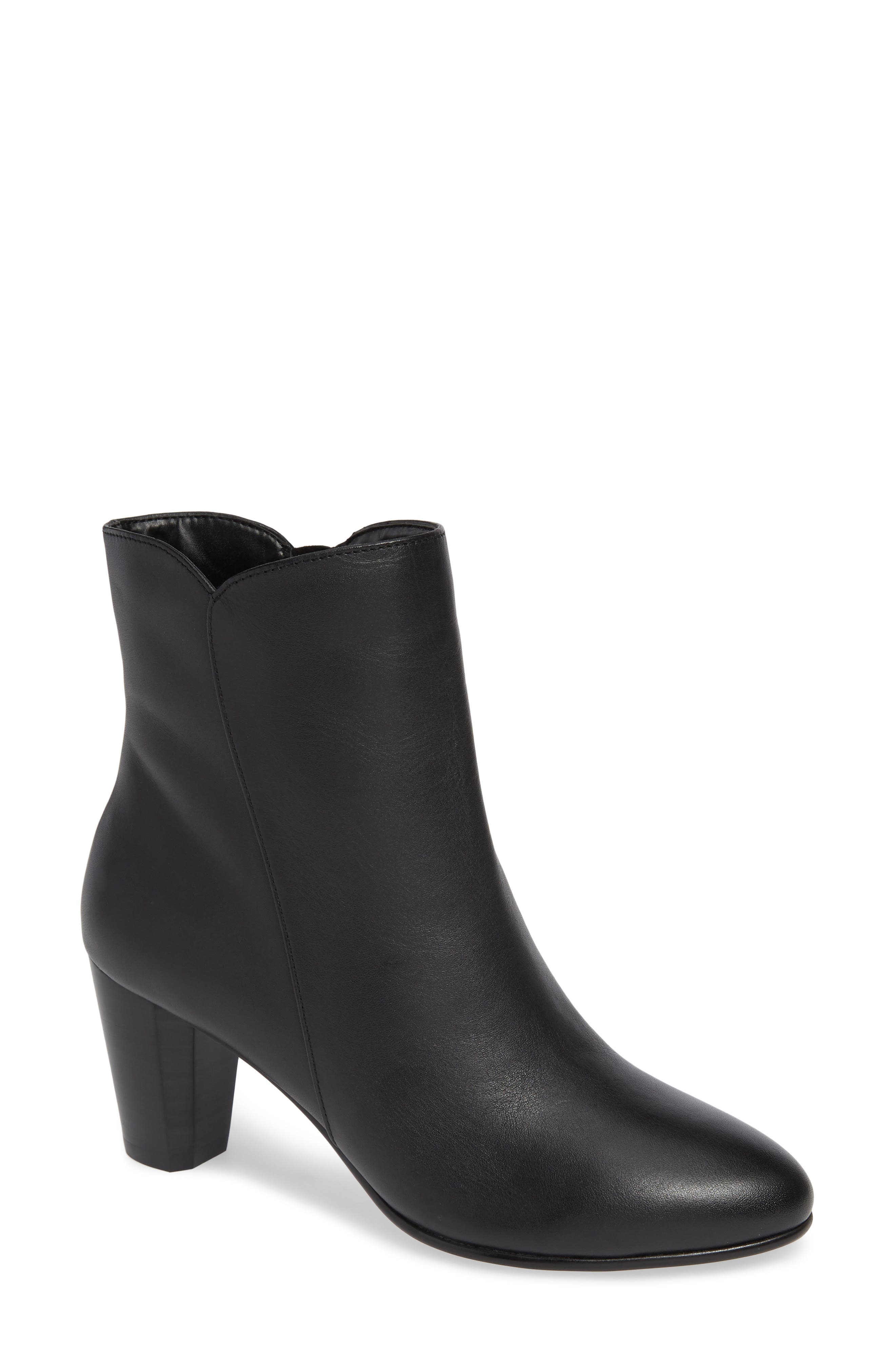 David Tate Alexa Bootie, WW - Black