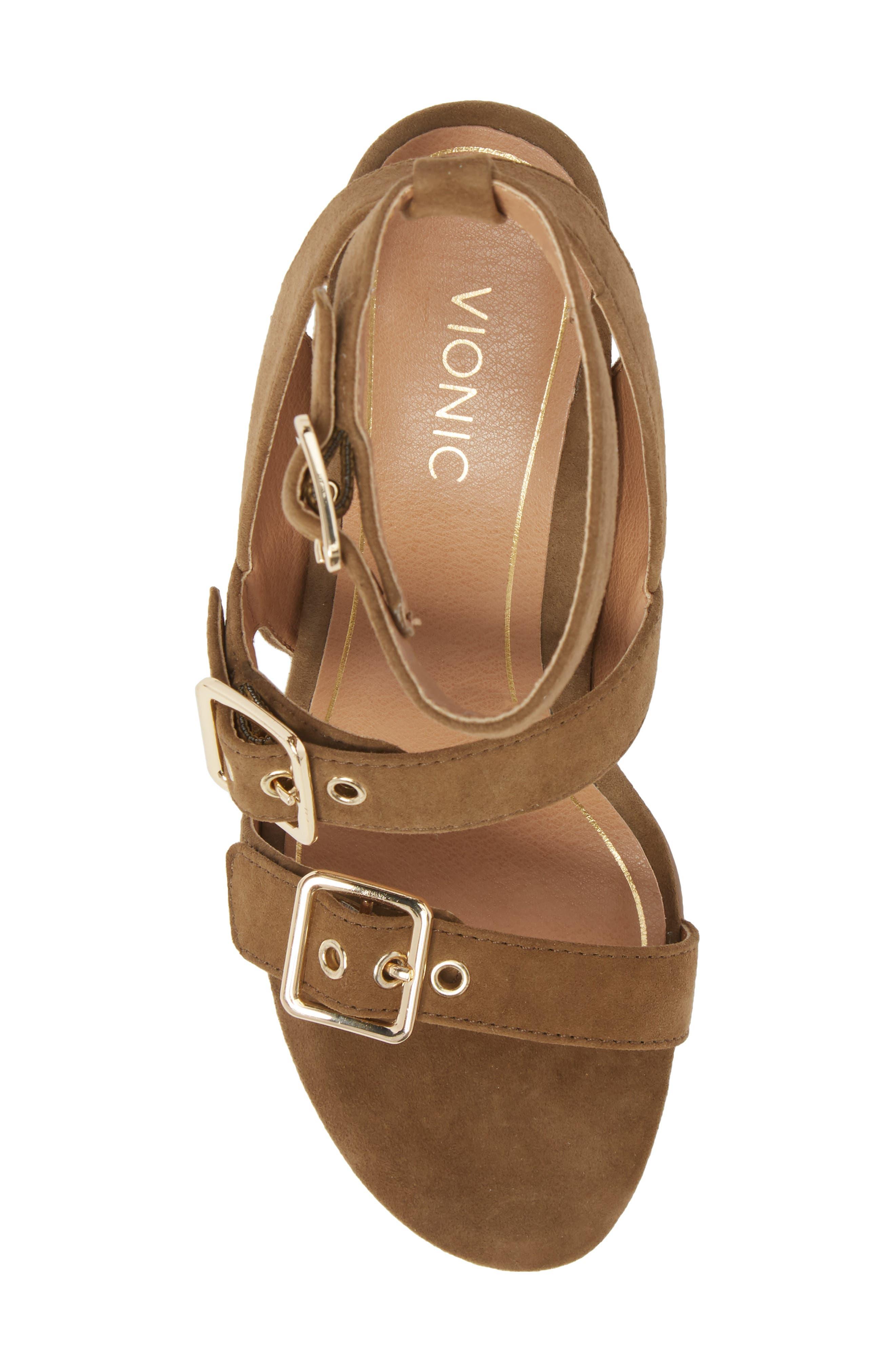 Carmel Block Heel Sandal,                             Alternate thumbnail 5, color,                             310