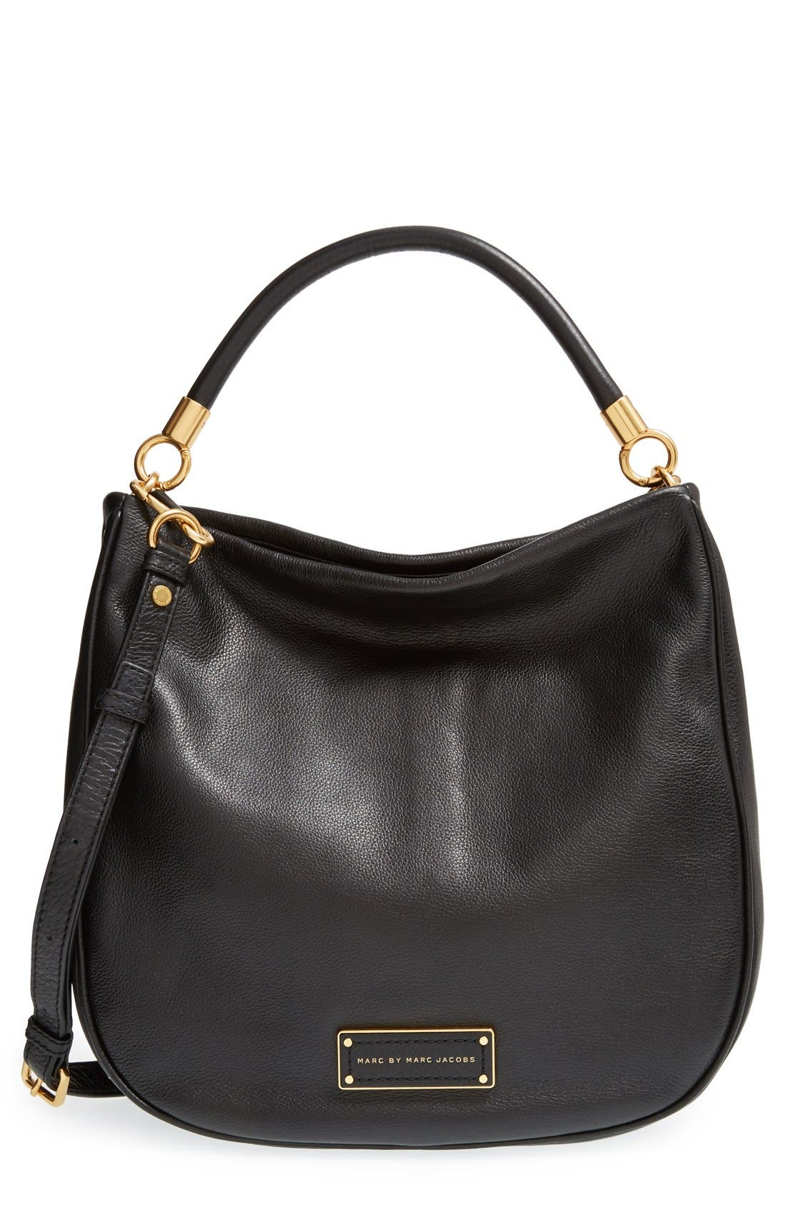 MARC BY MARC JACOBS 'Too Hot to Handle' Hobo, Main, color, 001