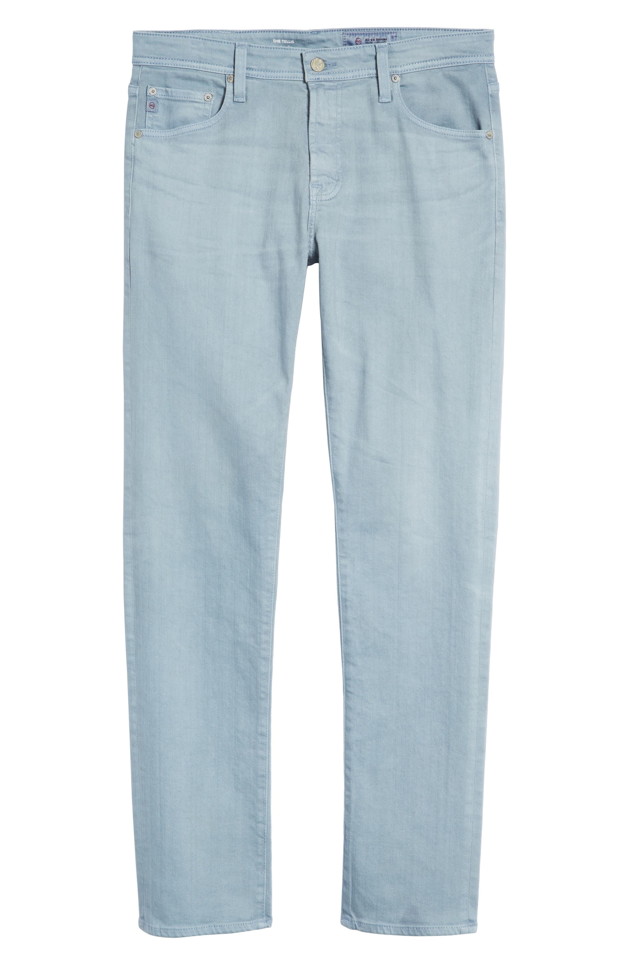 Tellis Slim Fit Jeans,                             Alternate thumbnail 6, color,                             480