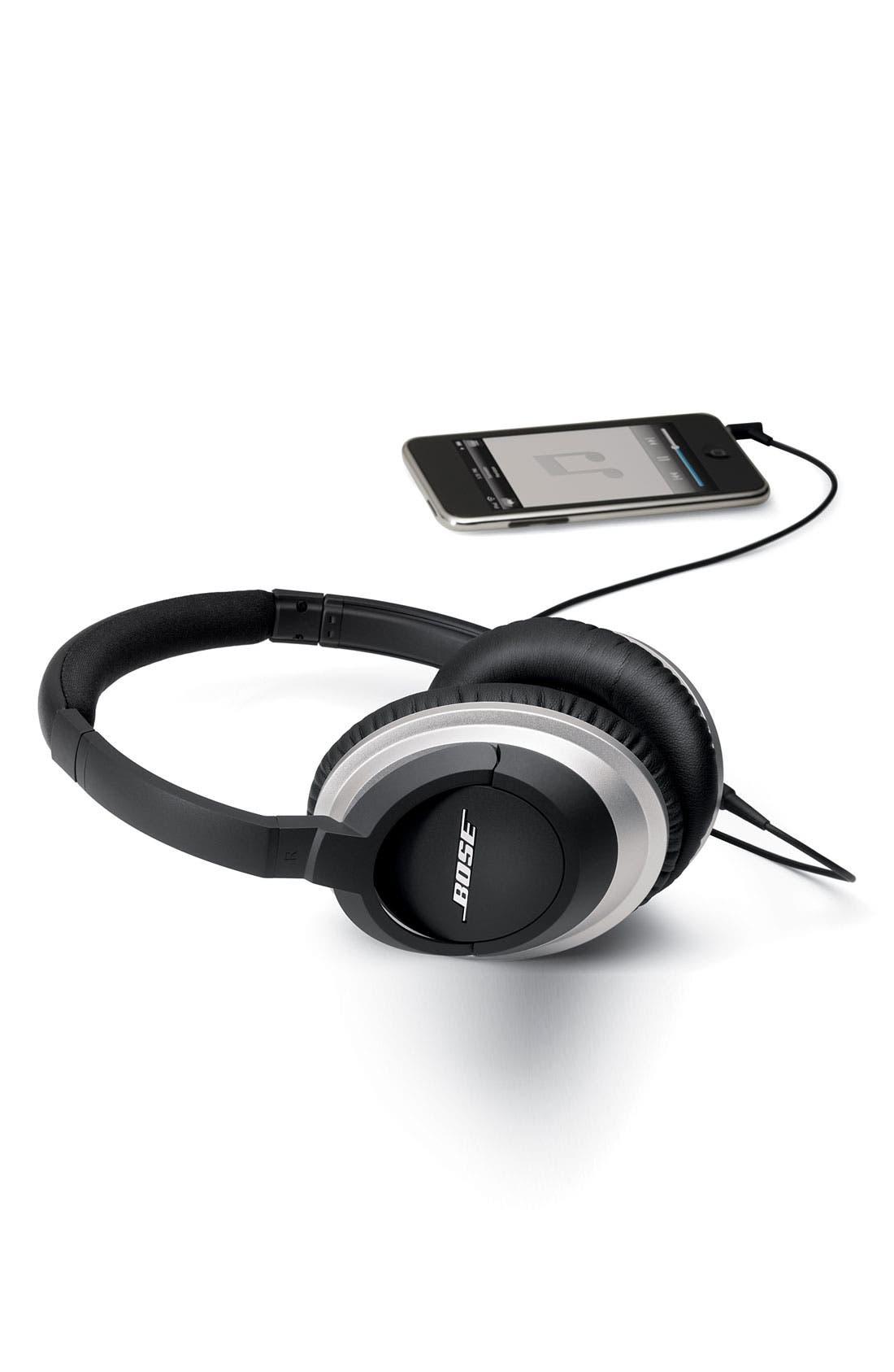 AE2 Audio Headphones,                             Alternate thumbnail 6, color,                             001
