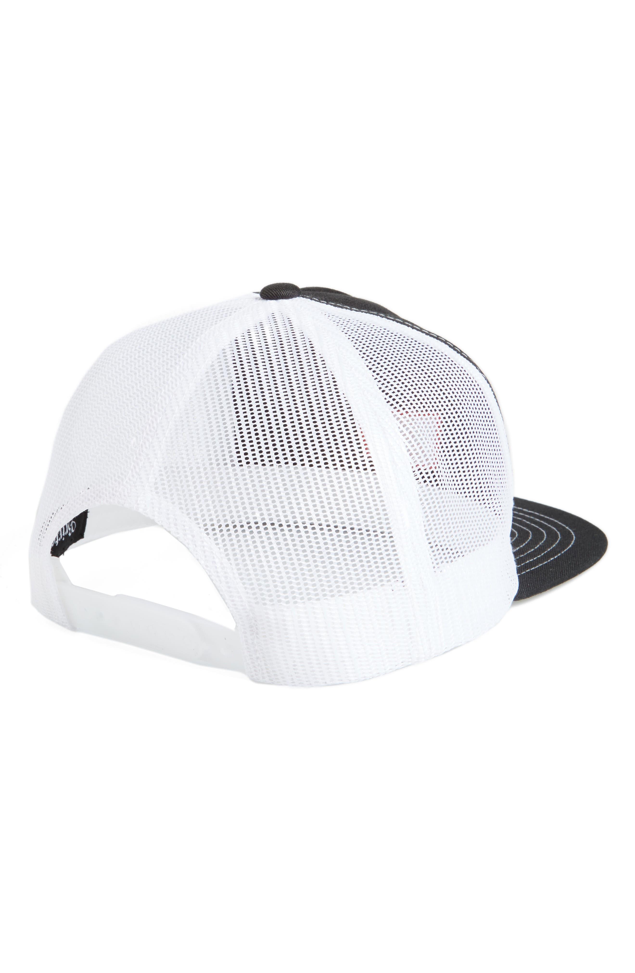 Stith Mesh Snapback Baseball Cap,                             Alternate thumbnail 2, color,                             001