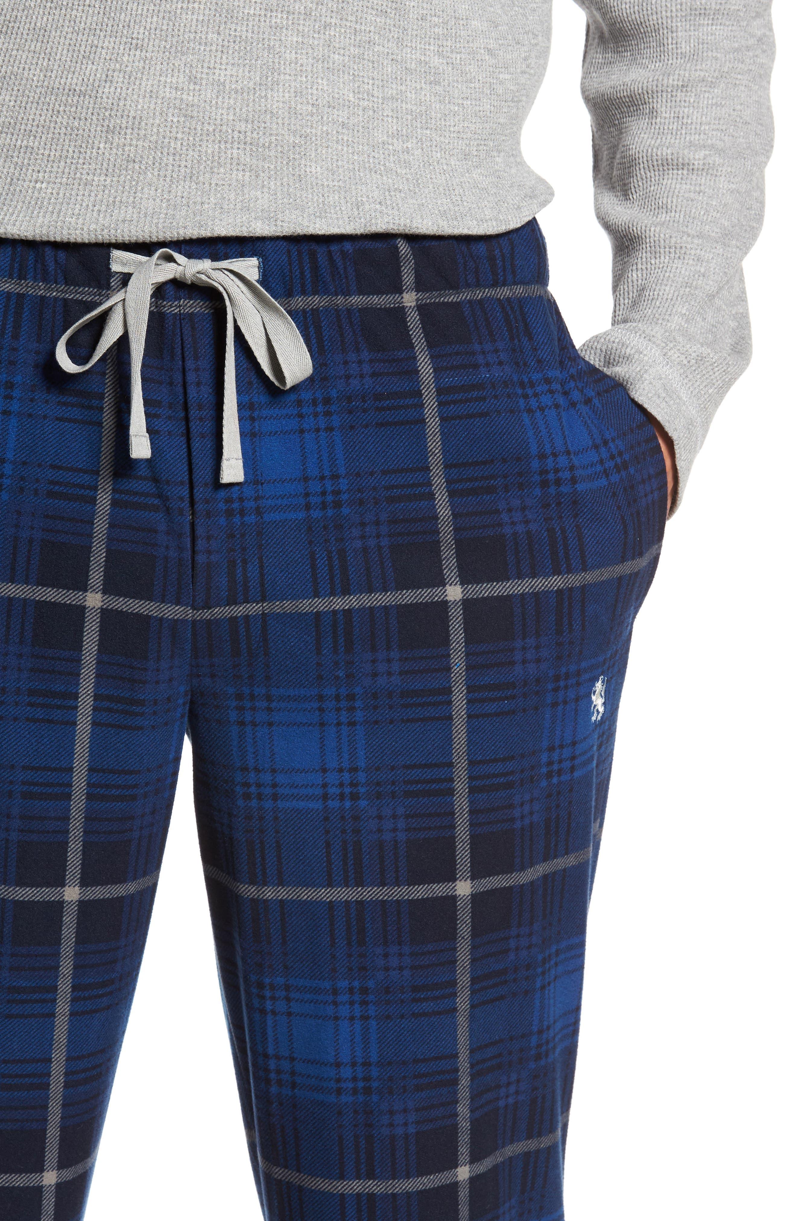 Nifty Gift Henley Shirt & Lounge Pants,                             Alternate thumbnail 4, color,                             025