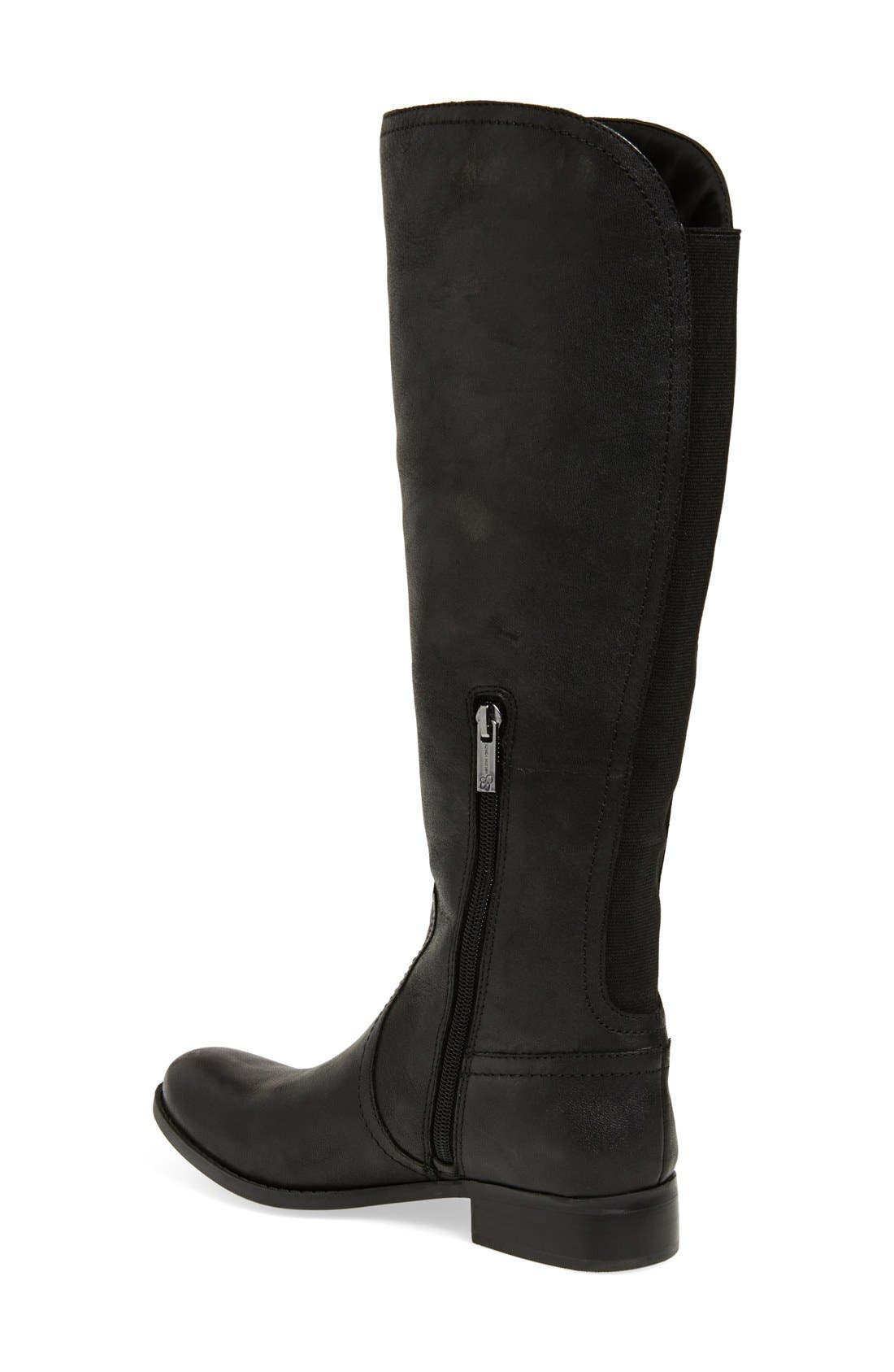'Randee' Tall Boot,                             Alternate thumbnail 4, color,                             001