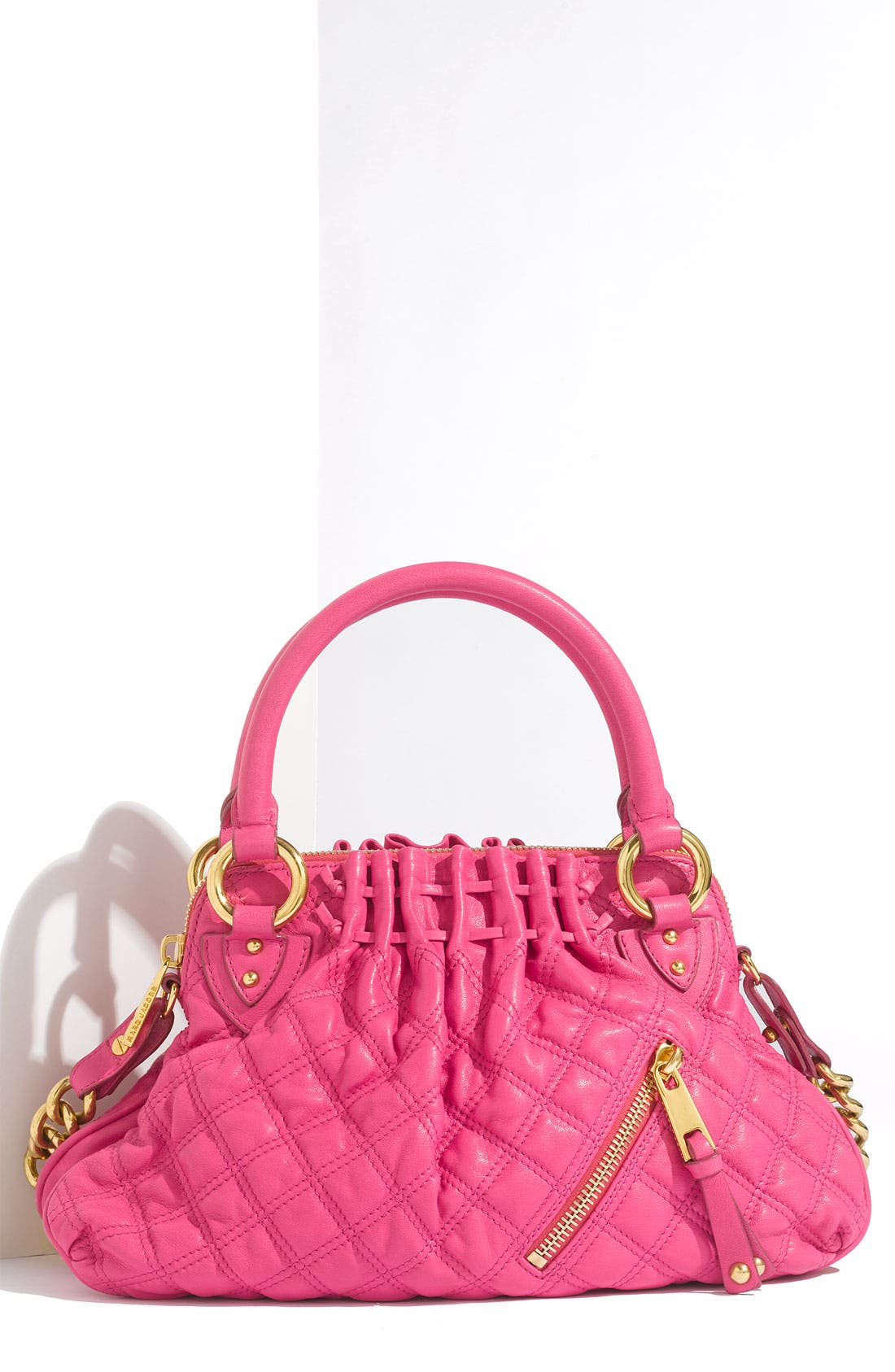 'Cecilia - Small' Quilted Leather Bag,                             Main thumbnail 4, color,