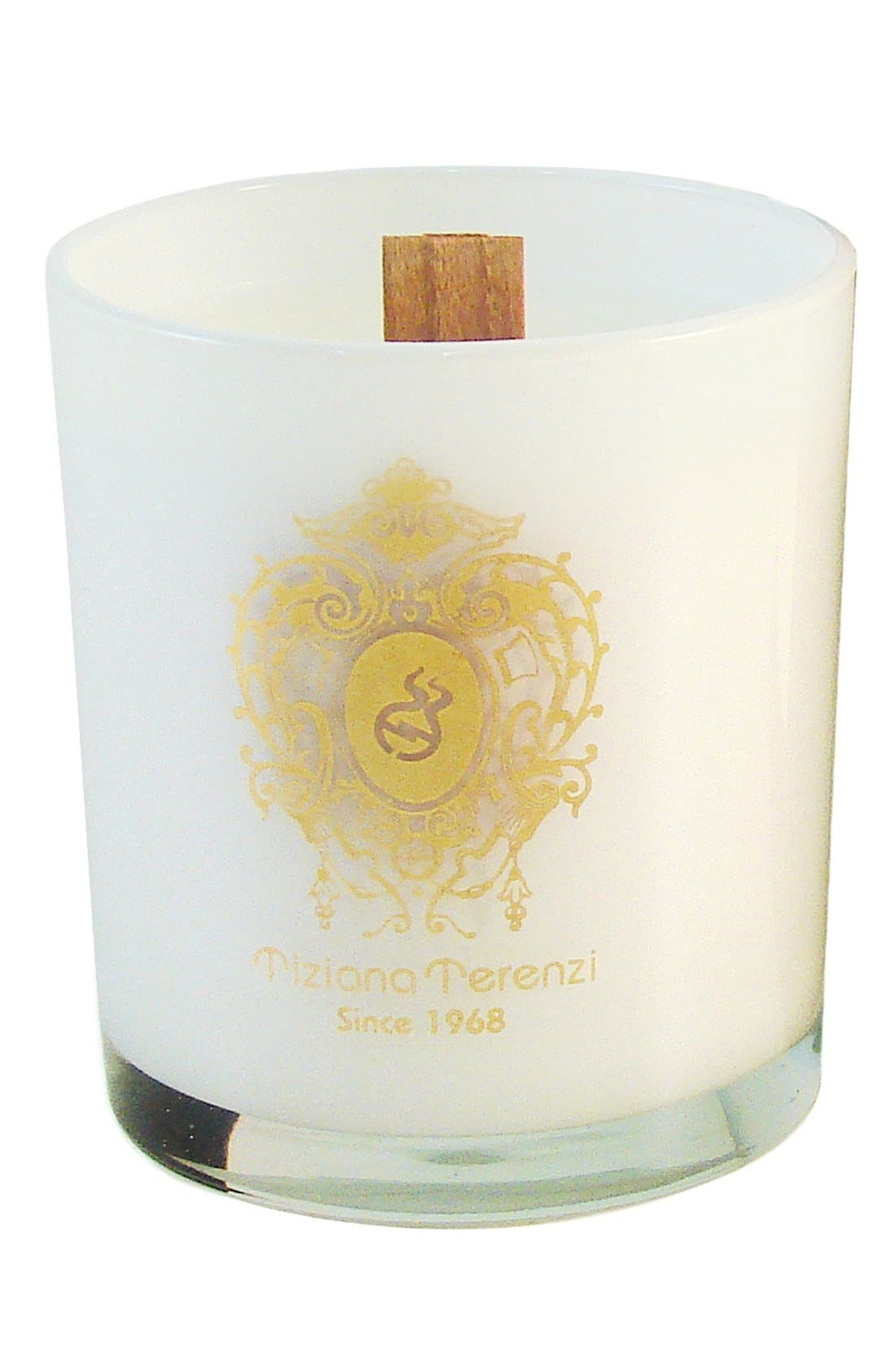 'Gold Rose Oudh' Single Wick Gioconda Candle,                         Main,                         color, 000